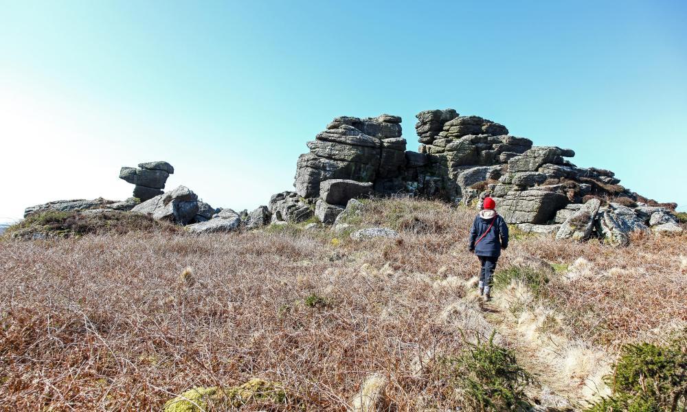 Carn Kenidjack on the Tinners' Way, Cornwall.
