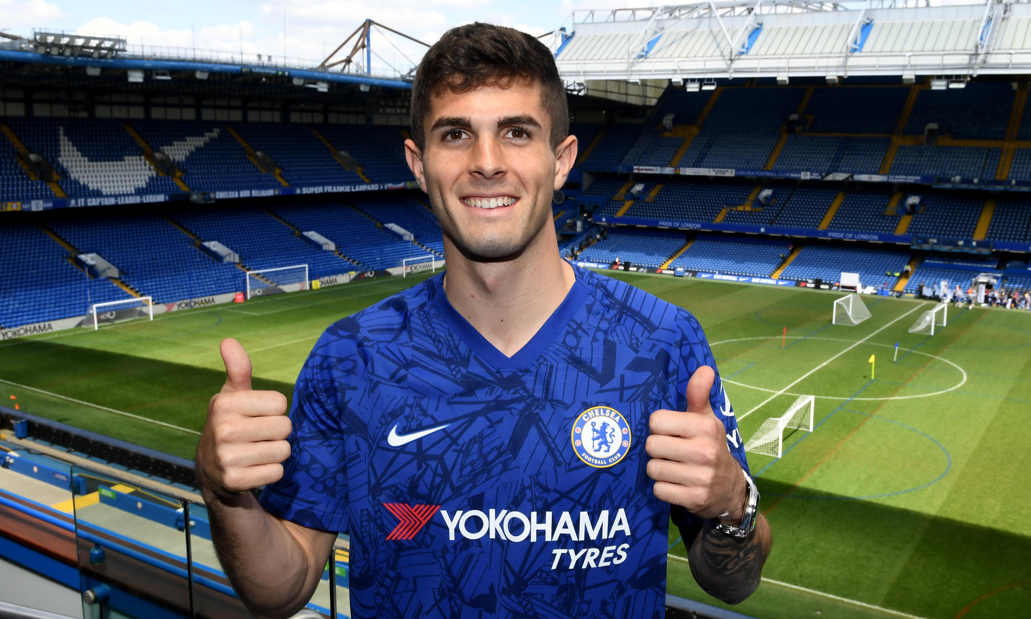 Christian Pulisic: 'There's a champion mentality at Chelsea'