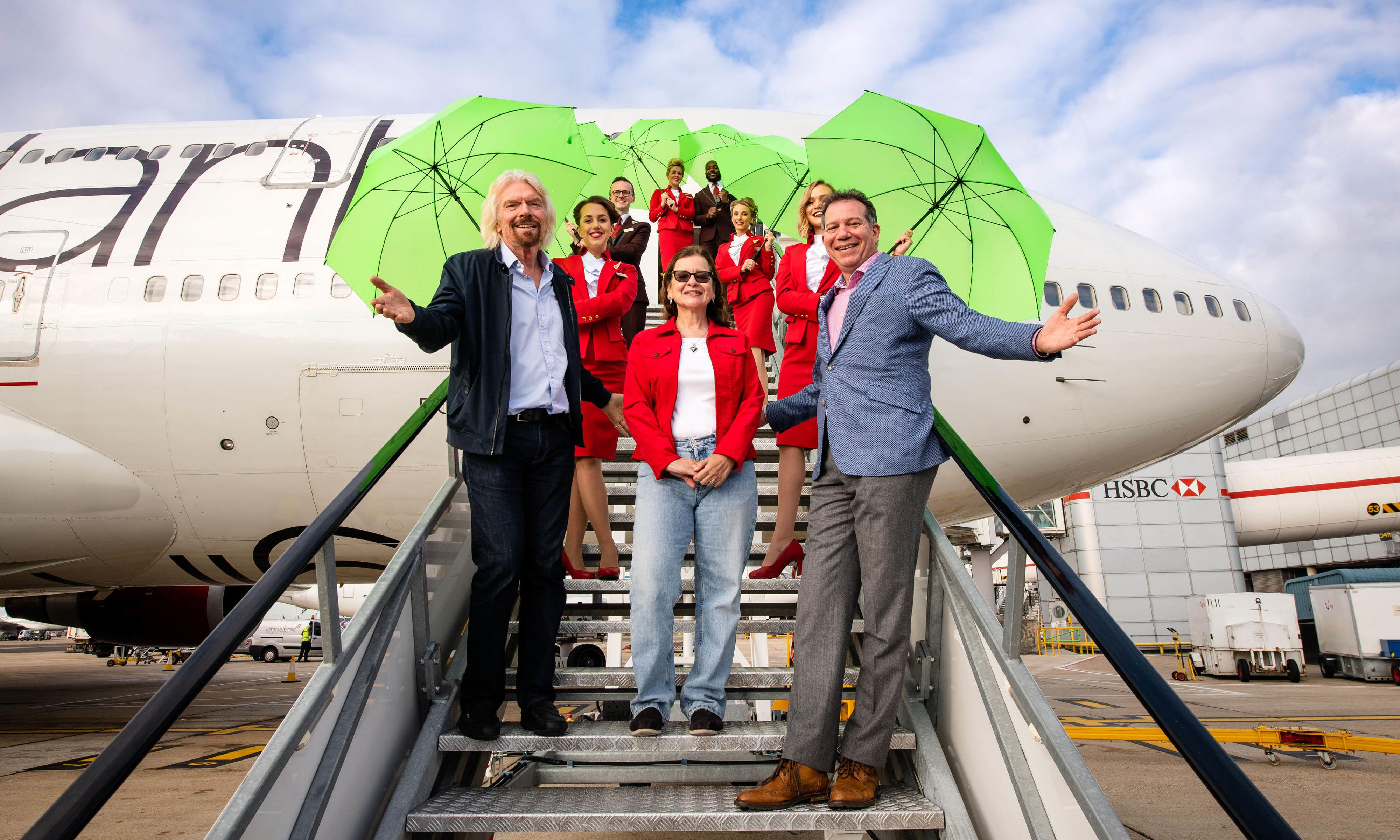 First commercial flight partly fuelled by recycled waste lands in UK