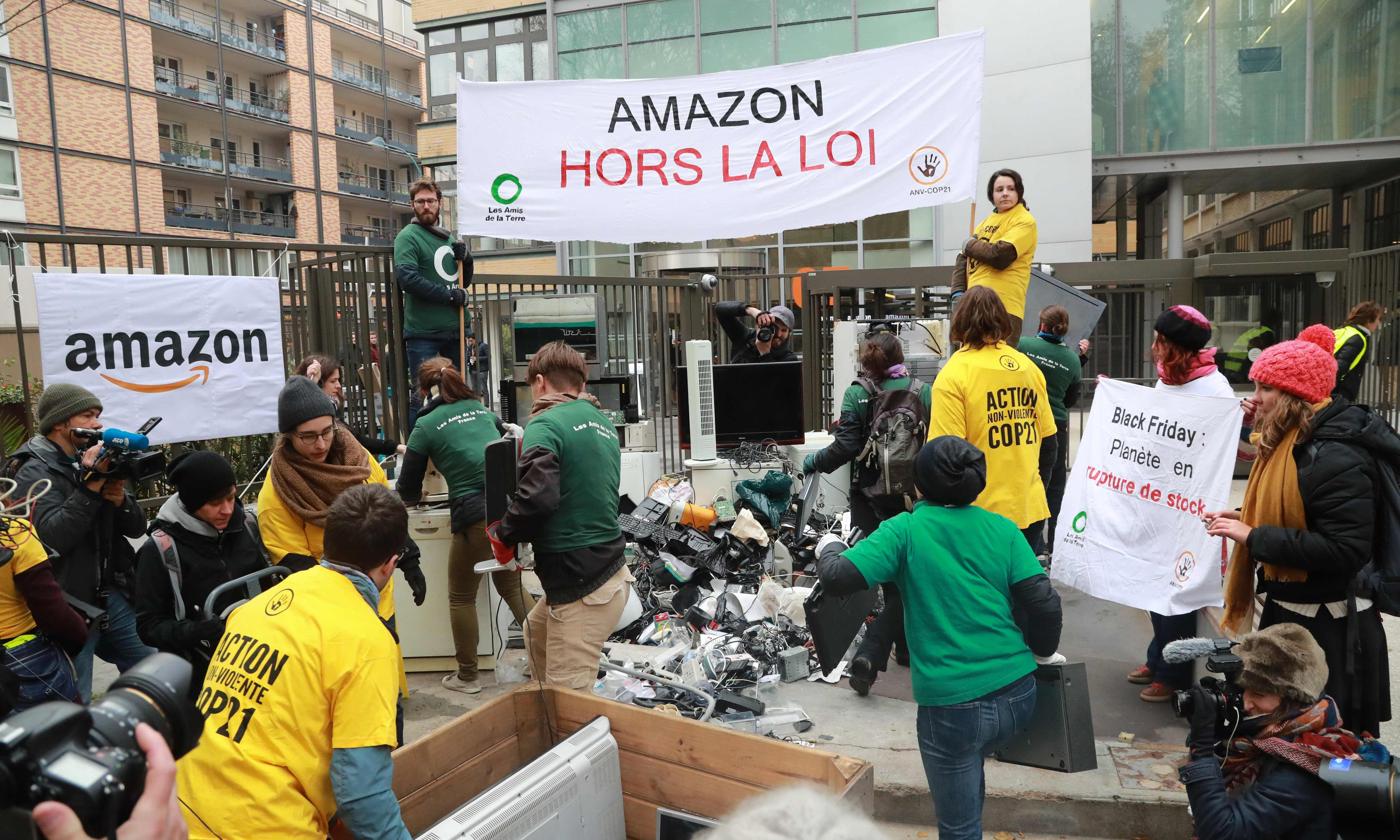 How the French rose up against a huge Amazon logistics centre