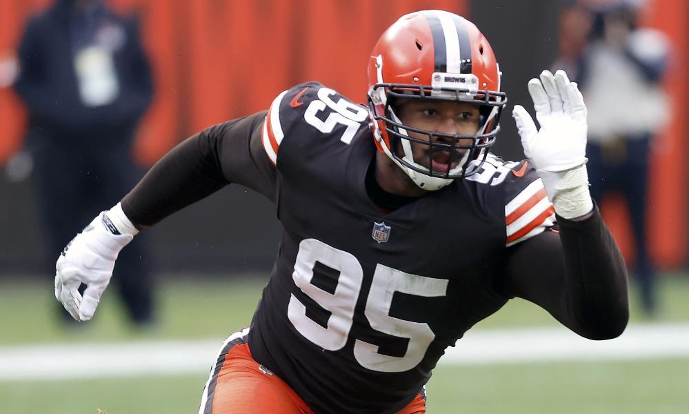 Myles Garrett is part of a formidable pass rush for the Browns