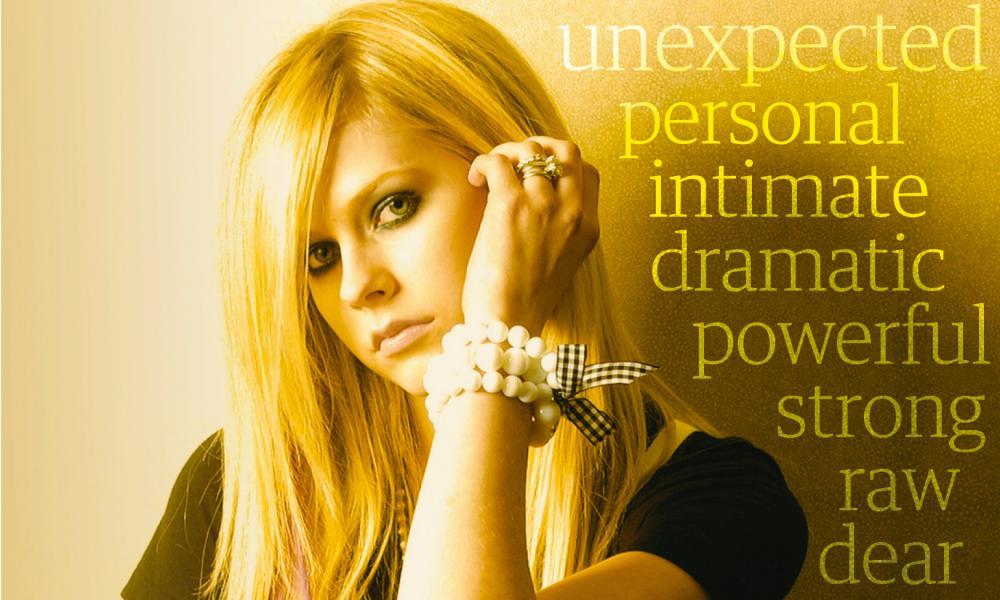 Avril Lavigne.
