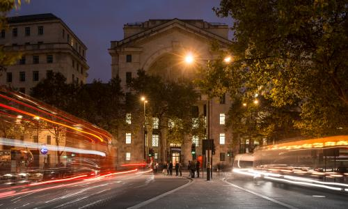 Learn from world-class academics in the beautiful Bush House, KCL.