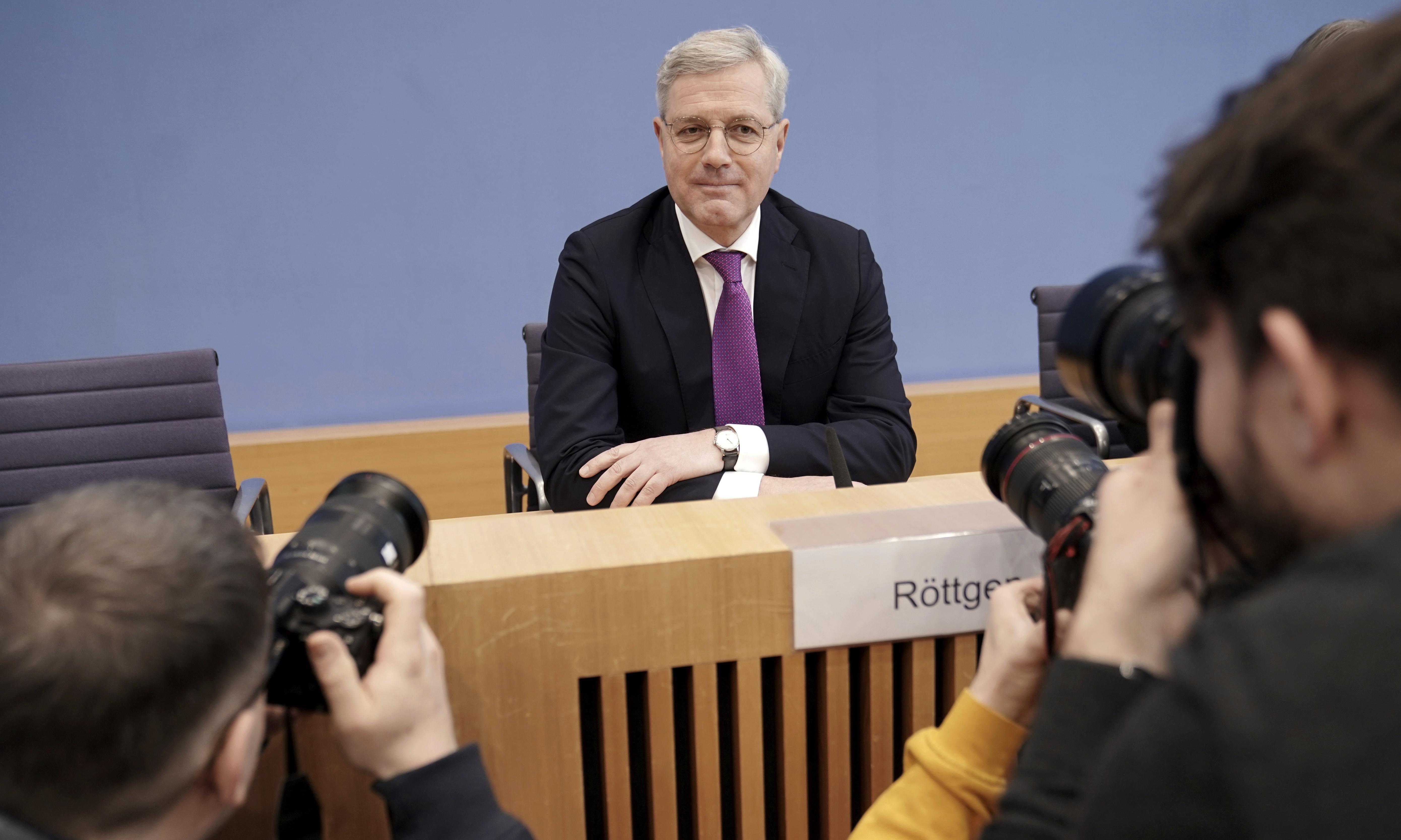 Germany: senior CDU figure announces surprise leadership candidacy
