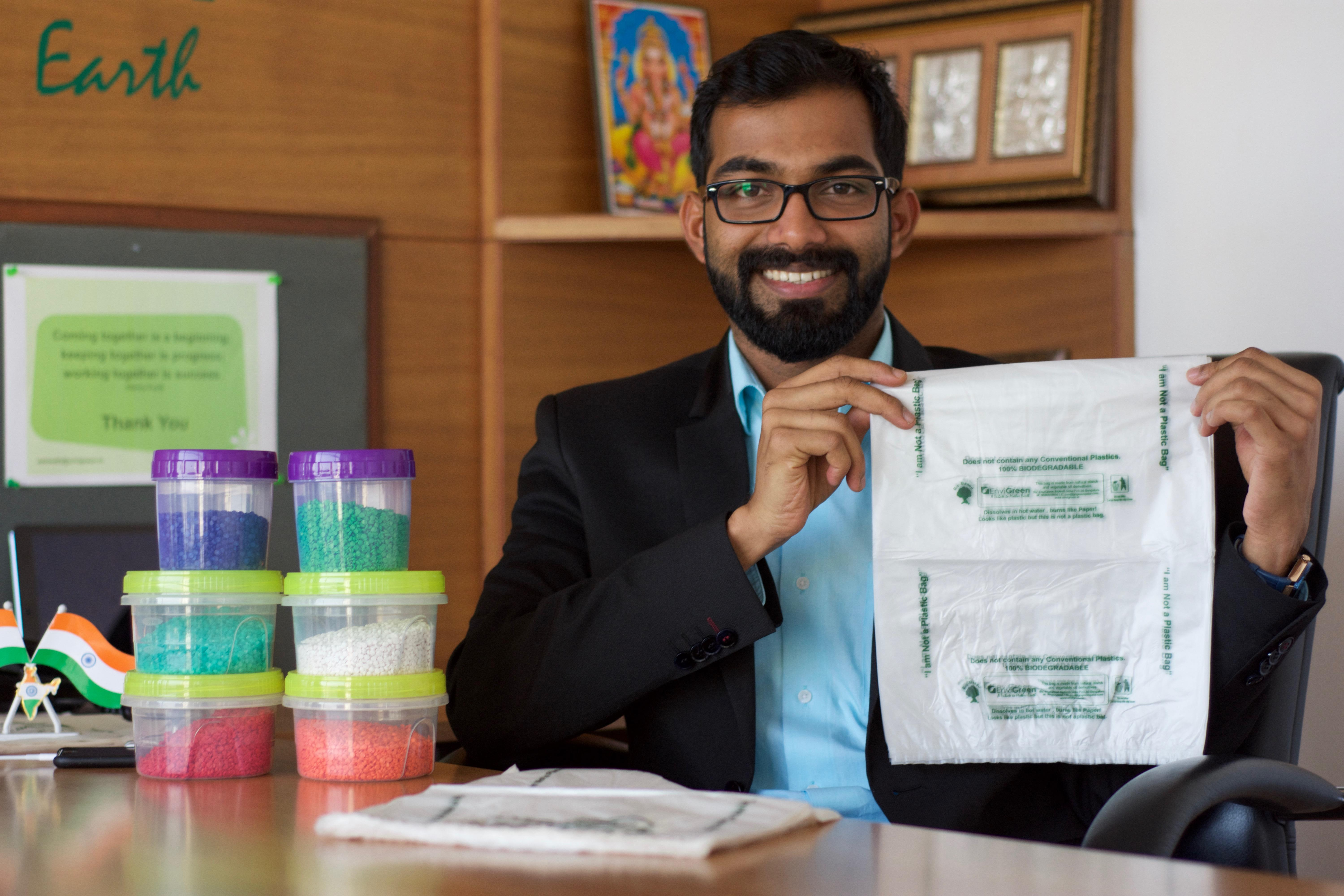 Burn it, dissolve it, eat it: is the solution to India's waste problem in the bag?