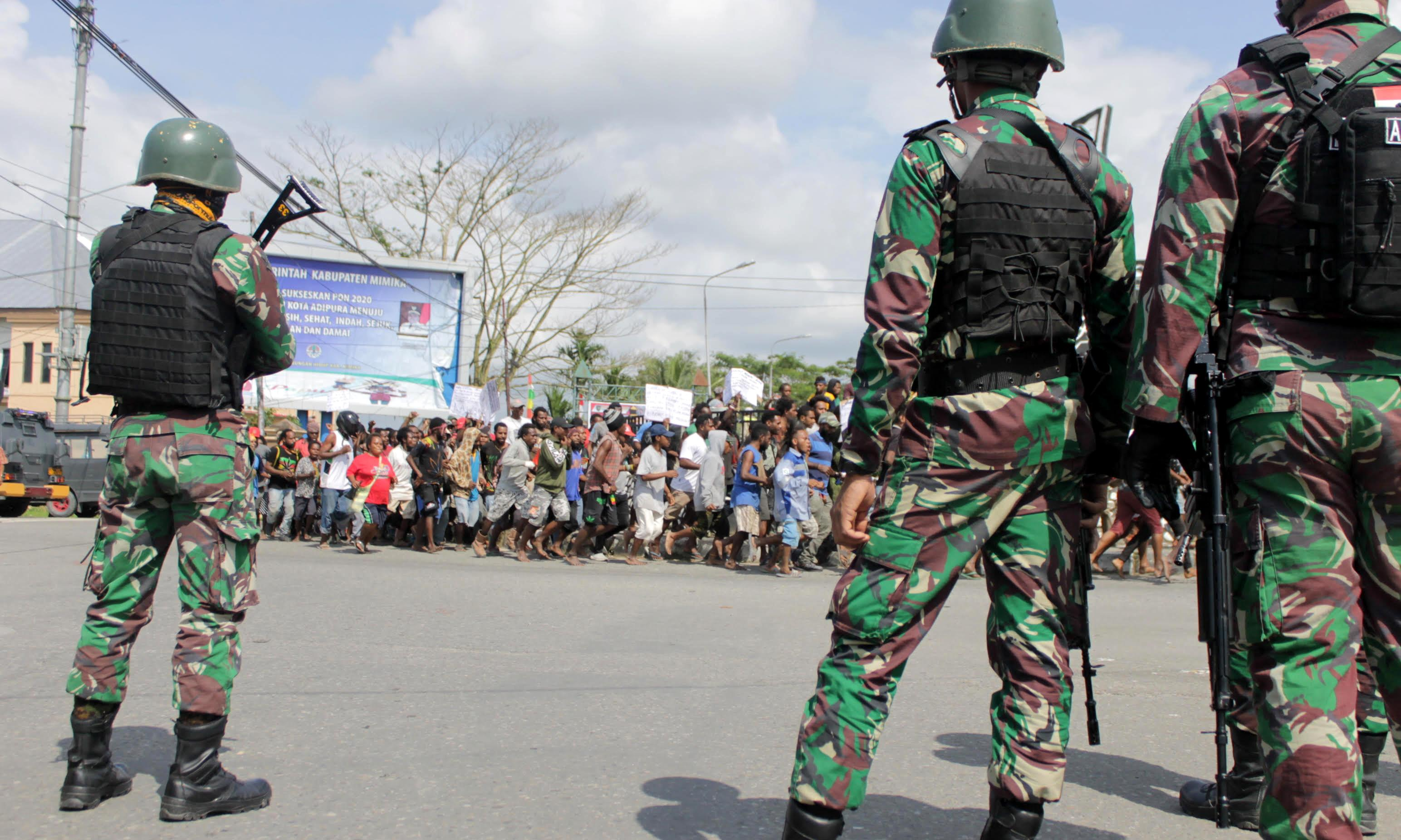 West Papua protests: Indonesia deploys 1,000 soldiers to quell unrest, cuts internet