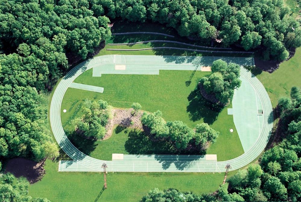 Tossols-Basil athletics track, 2000 Olot, Girona.