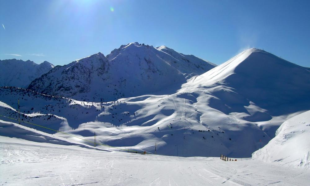 La Morte resort (now called L'Alpe du Grand Serre.