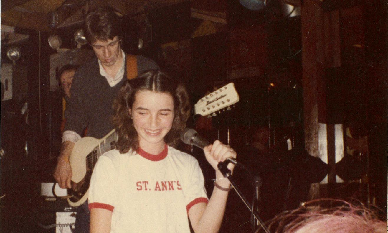 'It was grungy, gritty, rough': the 11-year-old who fronted an 80s post-punk band