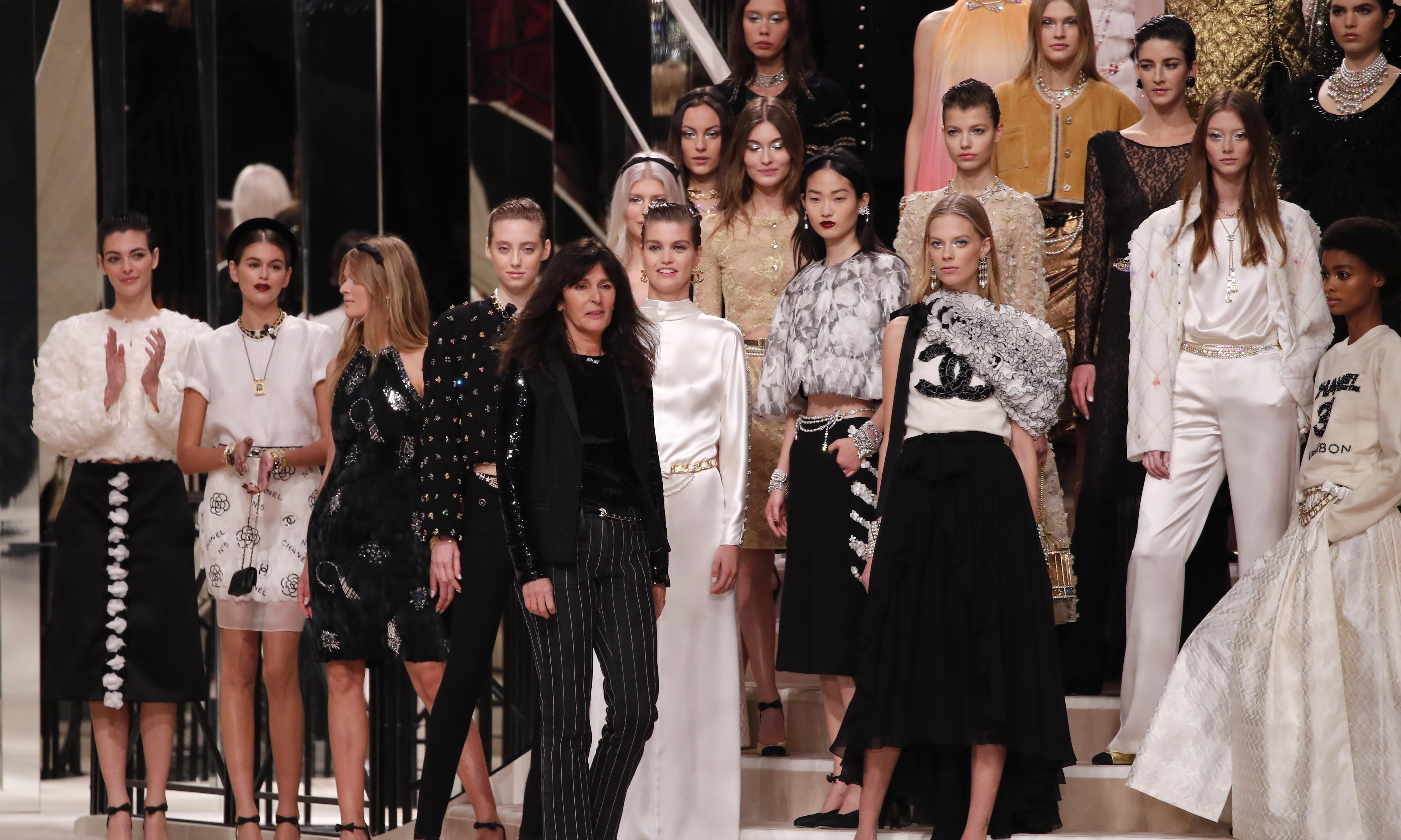 Chanel evokes ghost of Coco with 80s-inspired collection