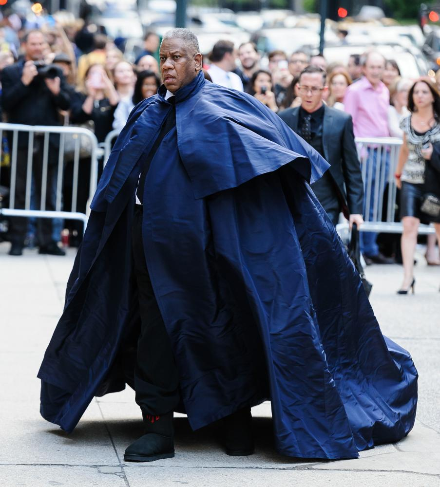 Caped crusader ... Talley's personal style redefined the boundaries of black masculinity. Photograph: ESBP/Star Max/GC Images