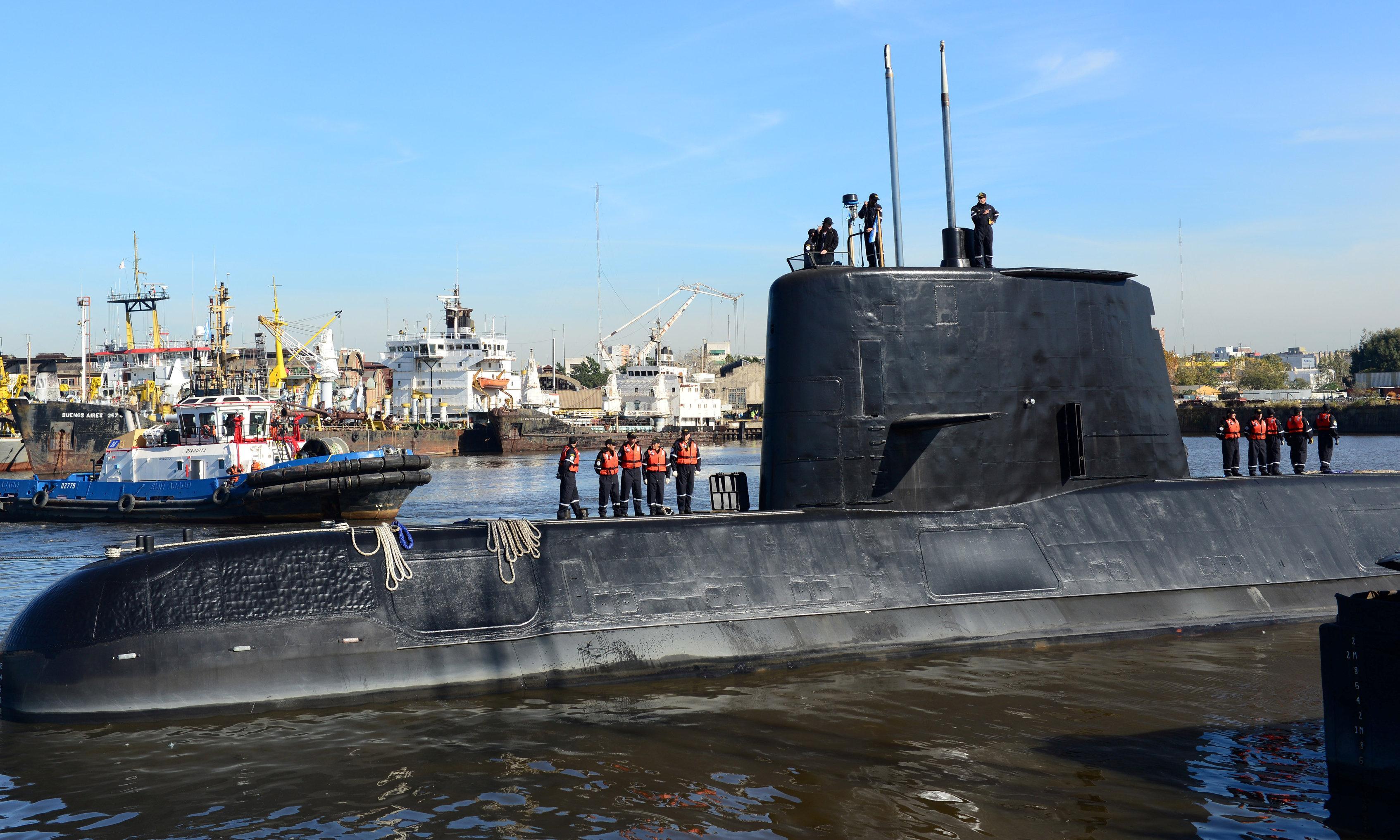 Submarine that vanished with 44 crew is found sunken in Atlantic