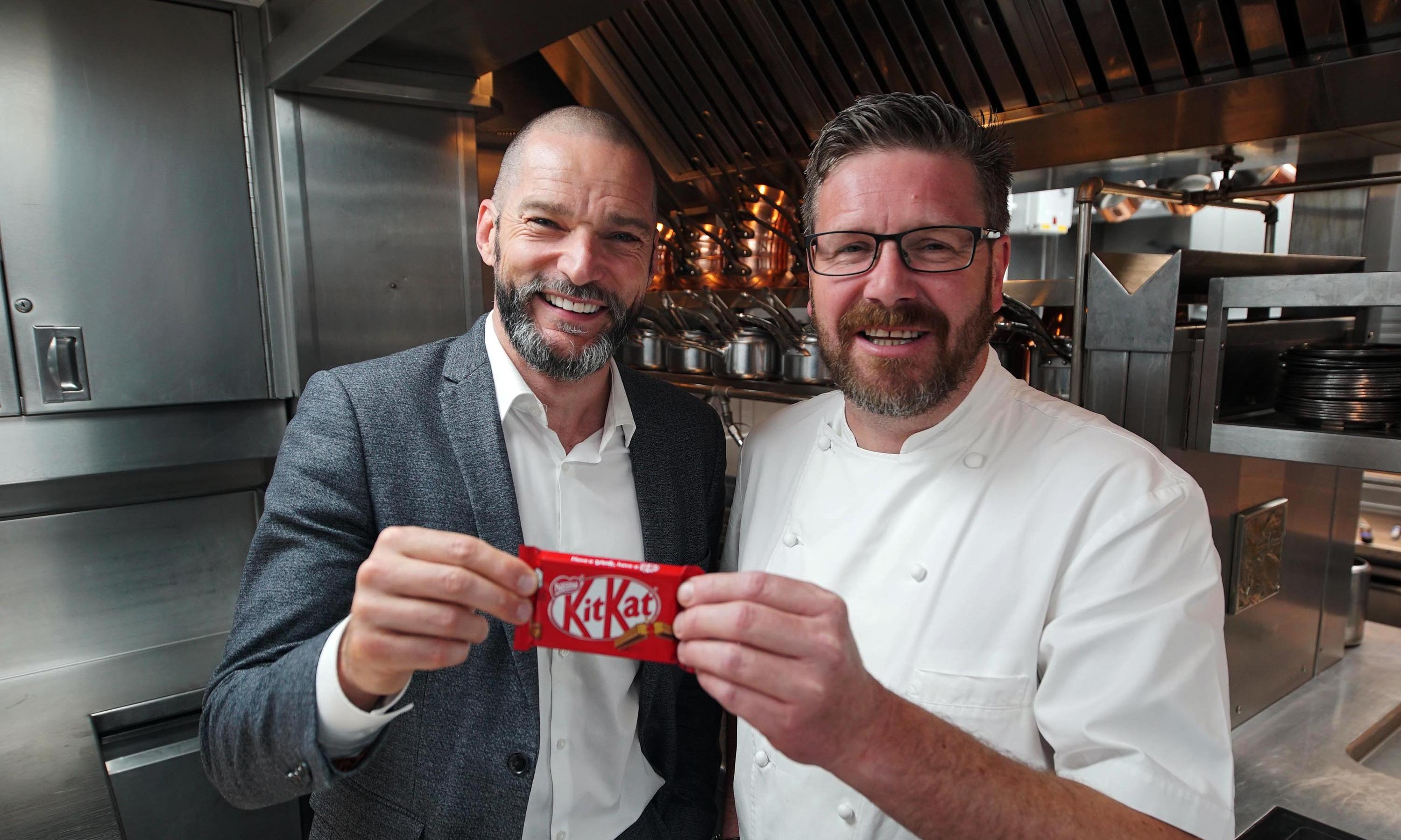 Snackmasters review – chefs making DIY KitKats? Give us a break
