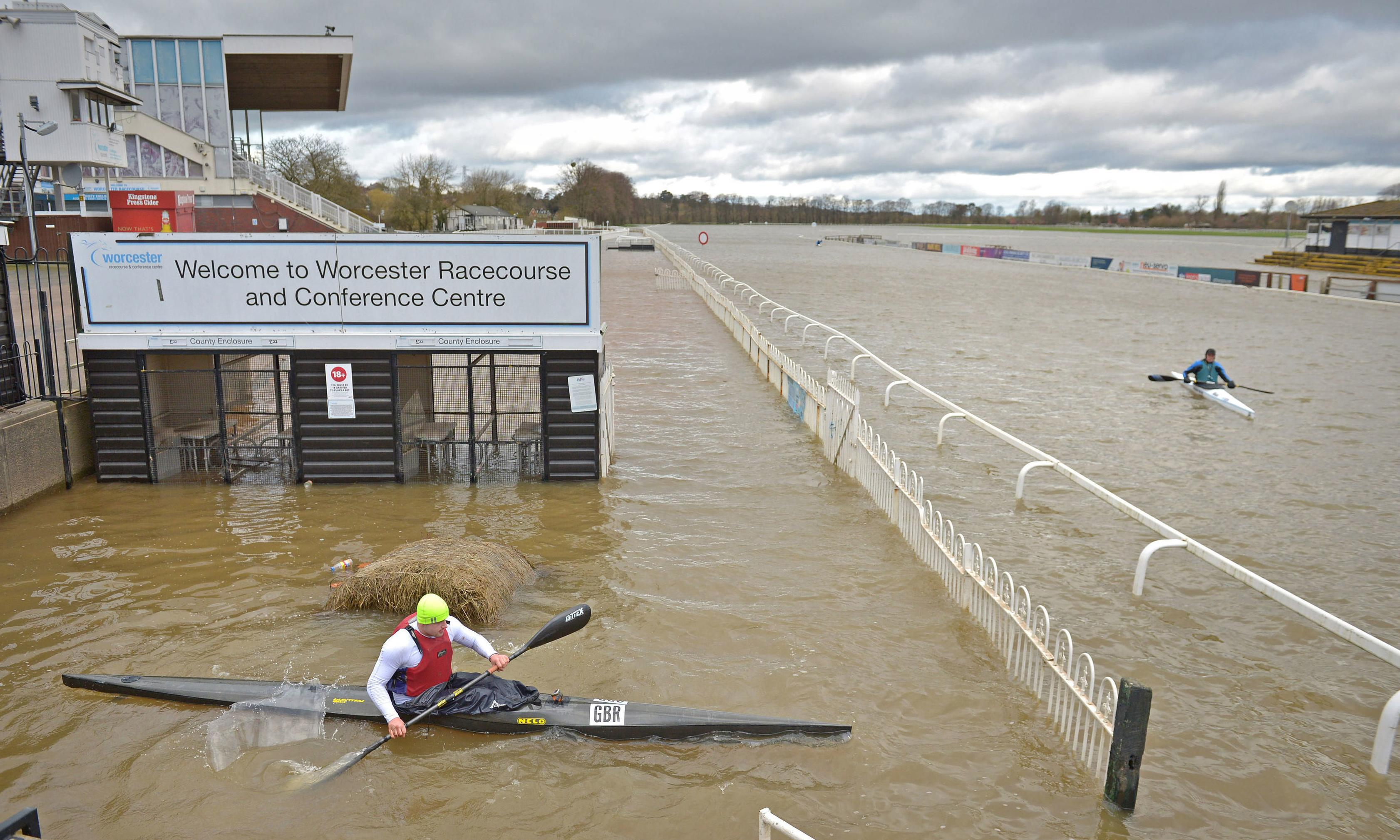 UK weather: flooded communities warned of more heavy rain