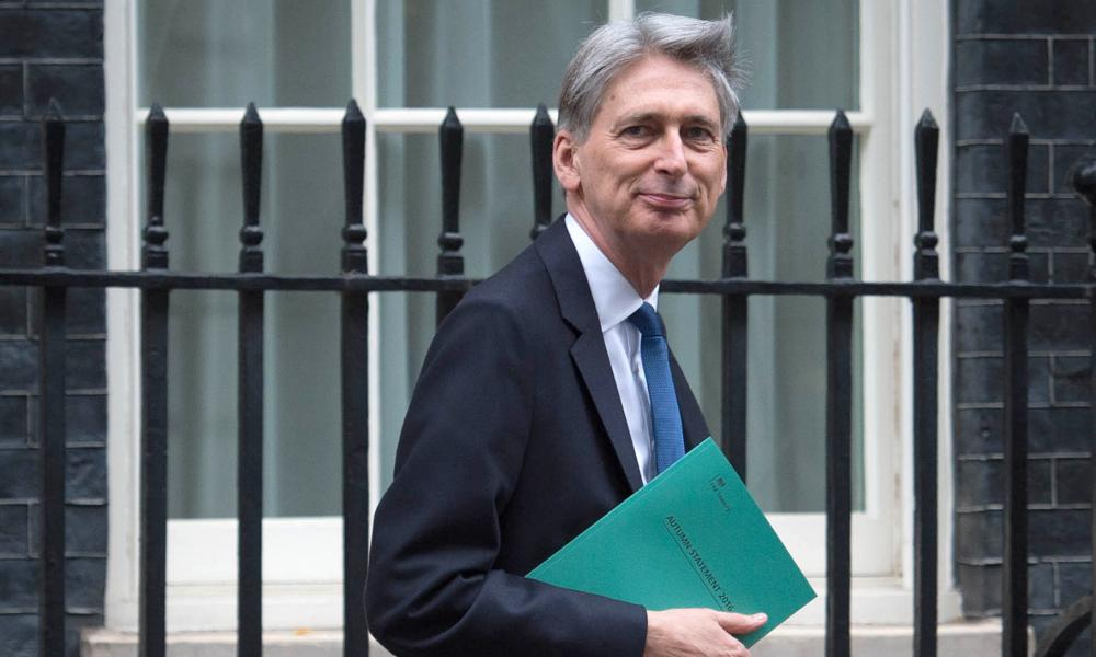 The tax credits correction was referred to in the main Treasury autumn statement report.