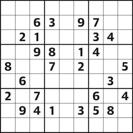 Sudoku 4,395 medium