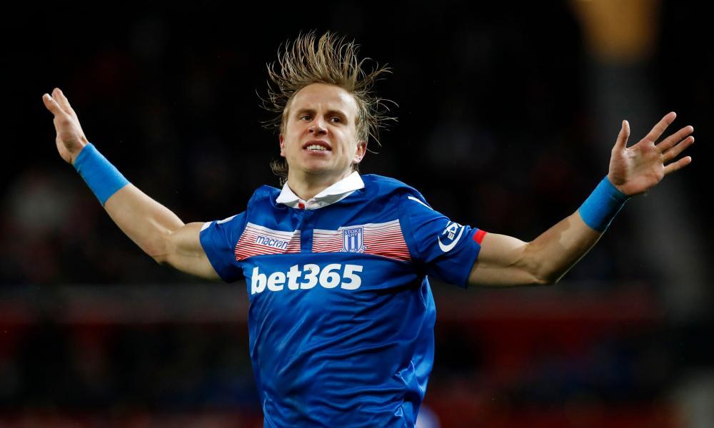 Stoke City's Moritz Bauer