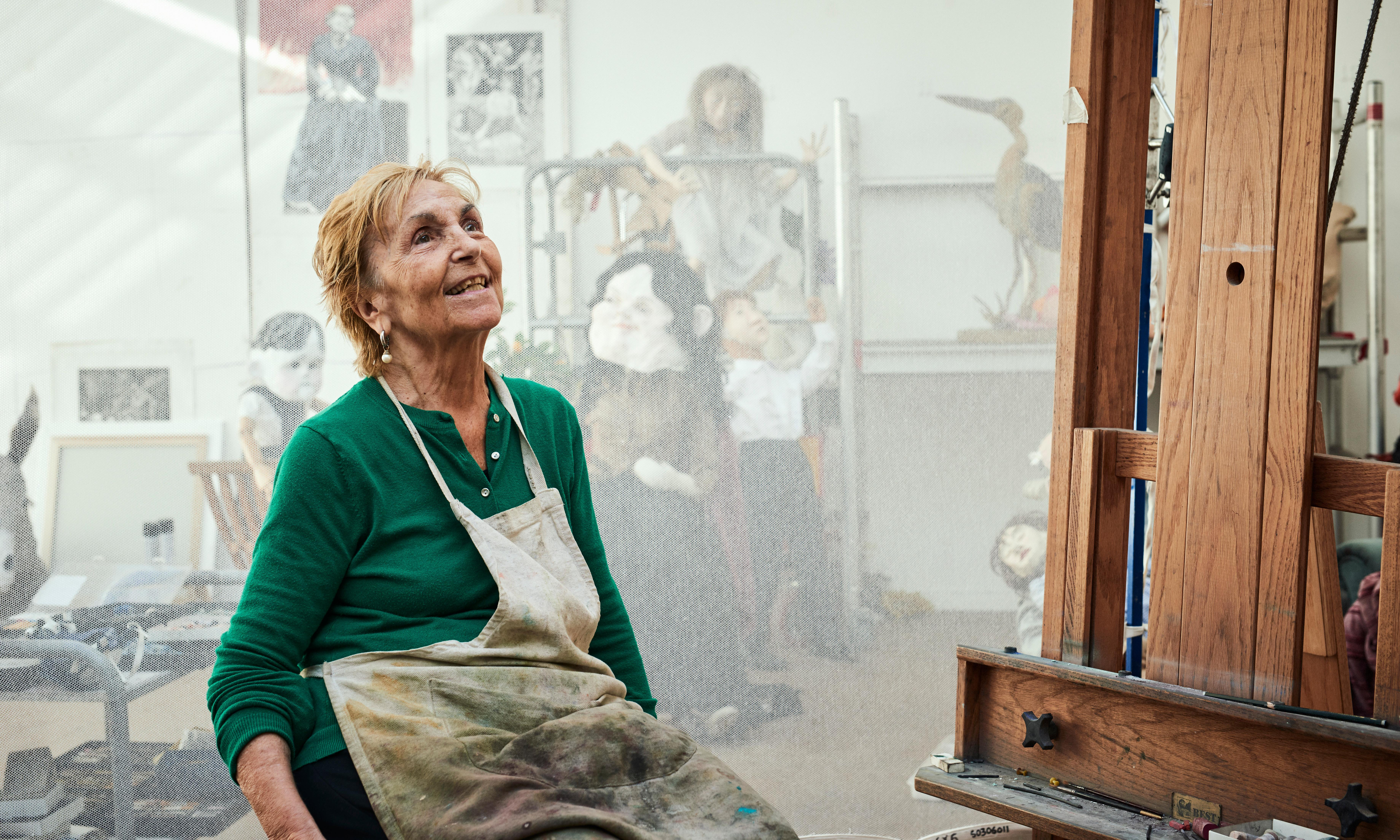Paula Rego: 'It isn't nice in my mind'