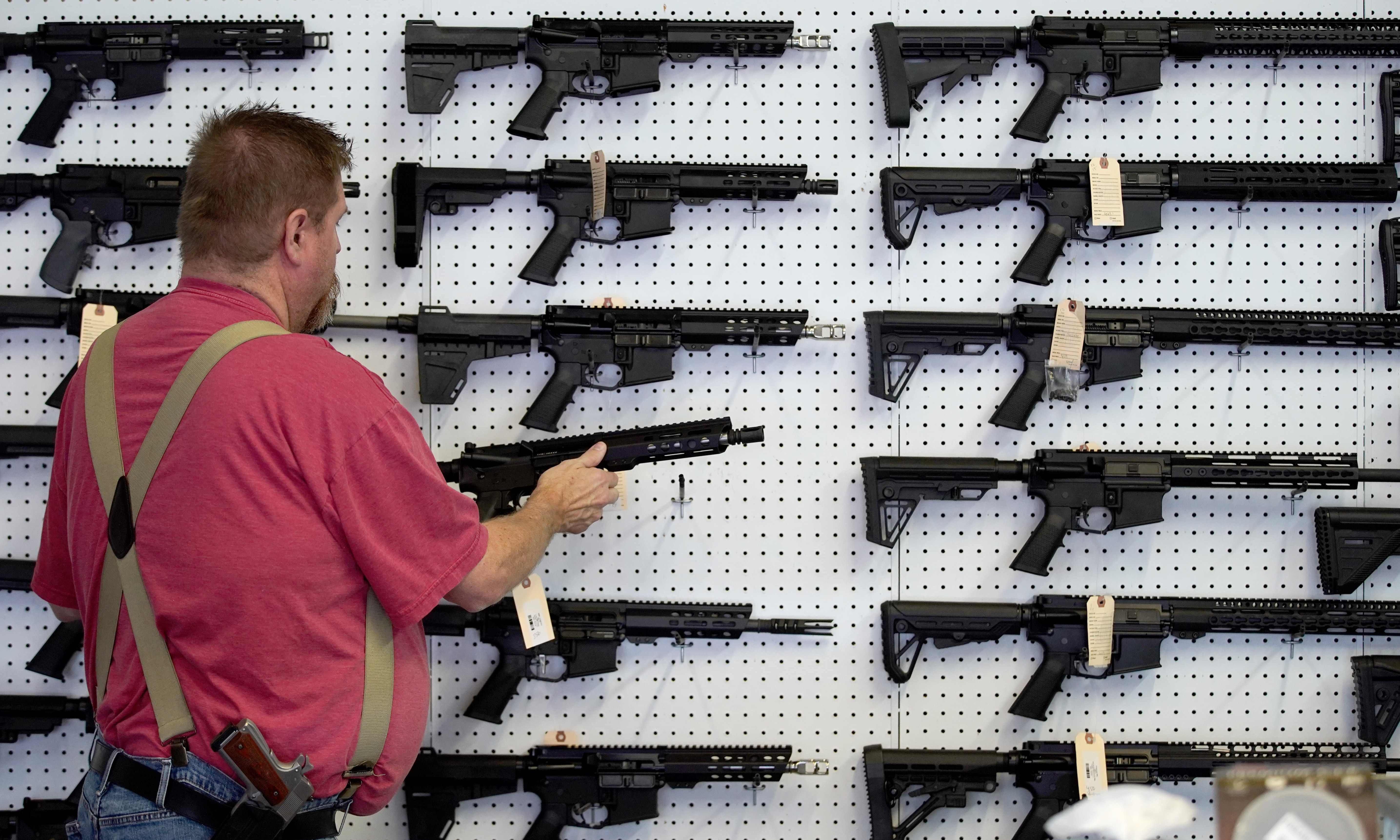 Republican congressional candidate touts AR-15s to fight 'looting hordes from Atlanta'