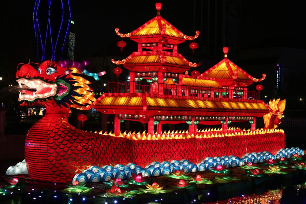 The lantern fair in Nantong, China, which opens to tourists tomorrow.