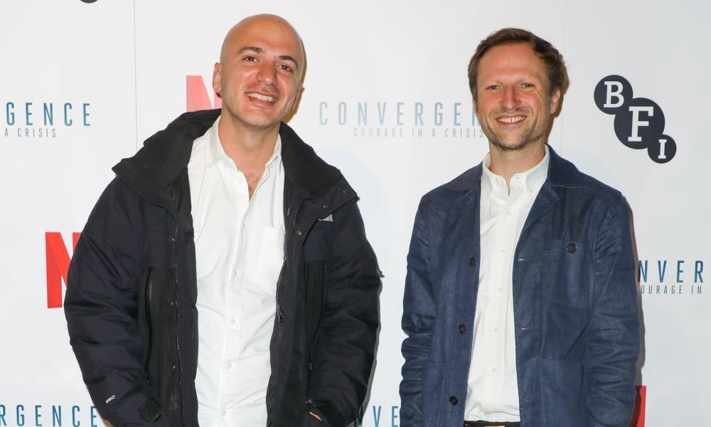 Hassan Akkad and Orlando von Einsiedel