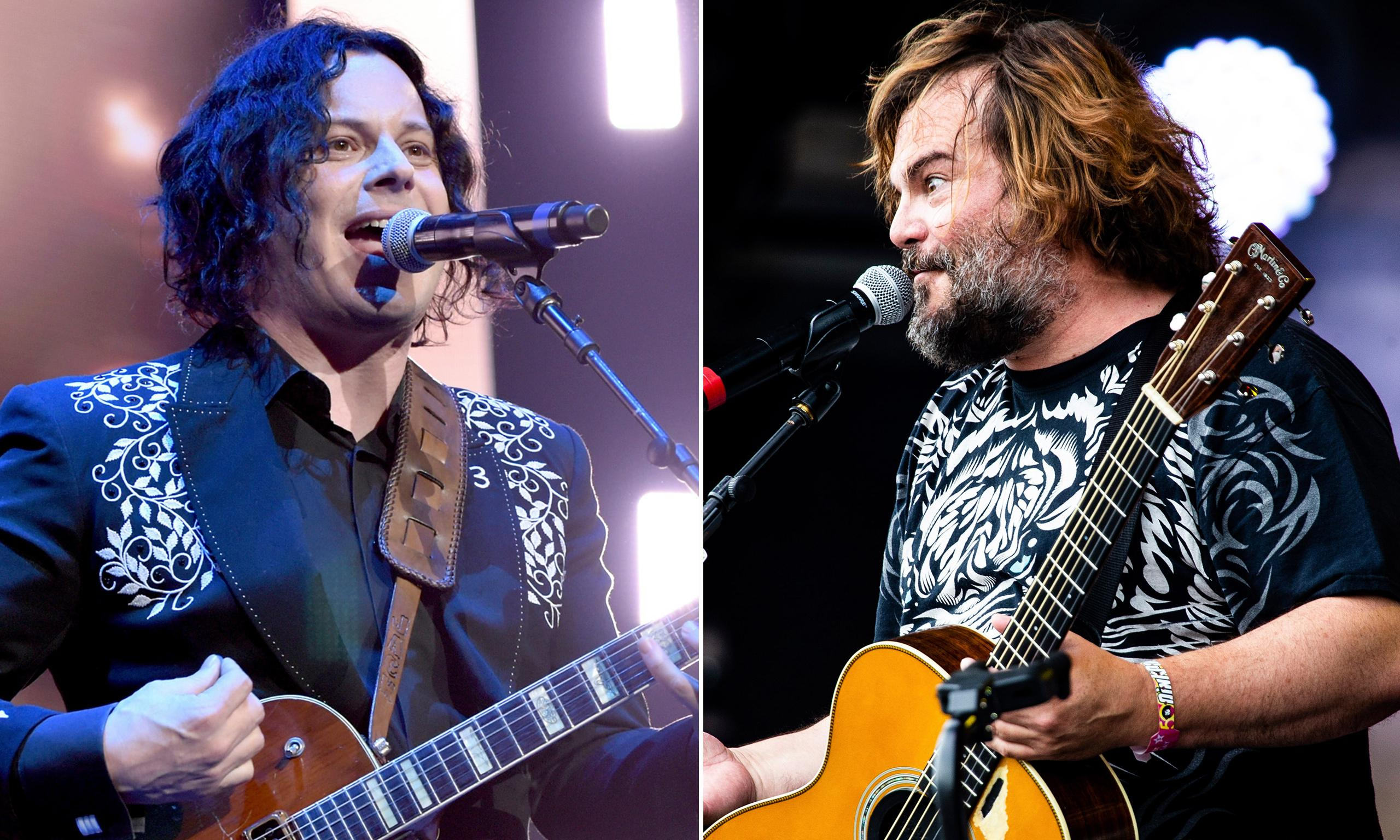 Jack Grey? … Jack White and Jack Black collaborate on new song