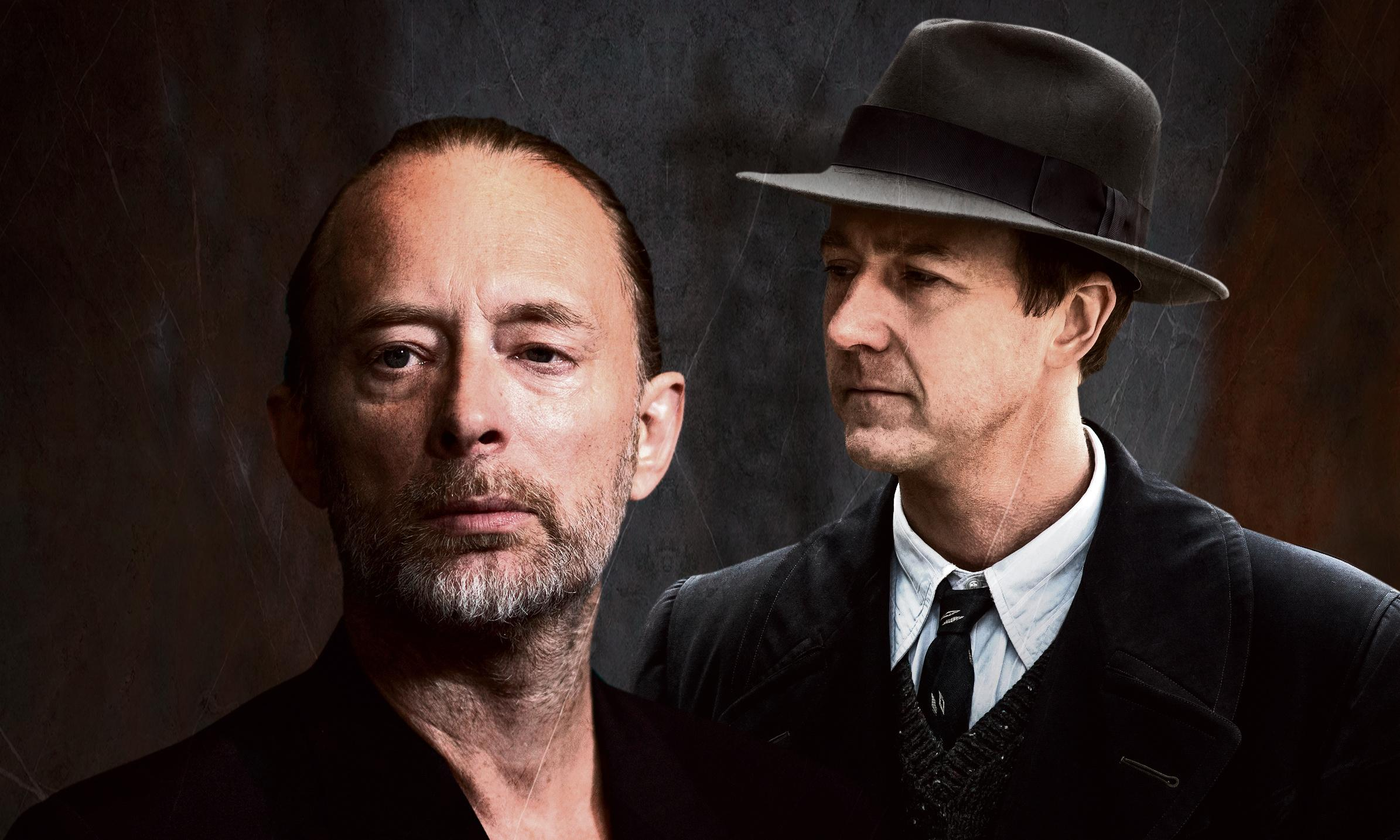 Edward Norton and Thom Yorke: 'The last thing we wanted was for it to get bloody'