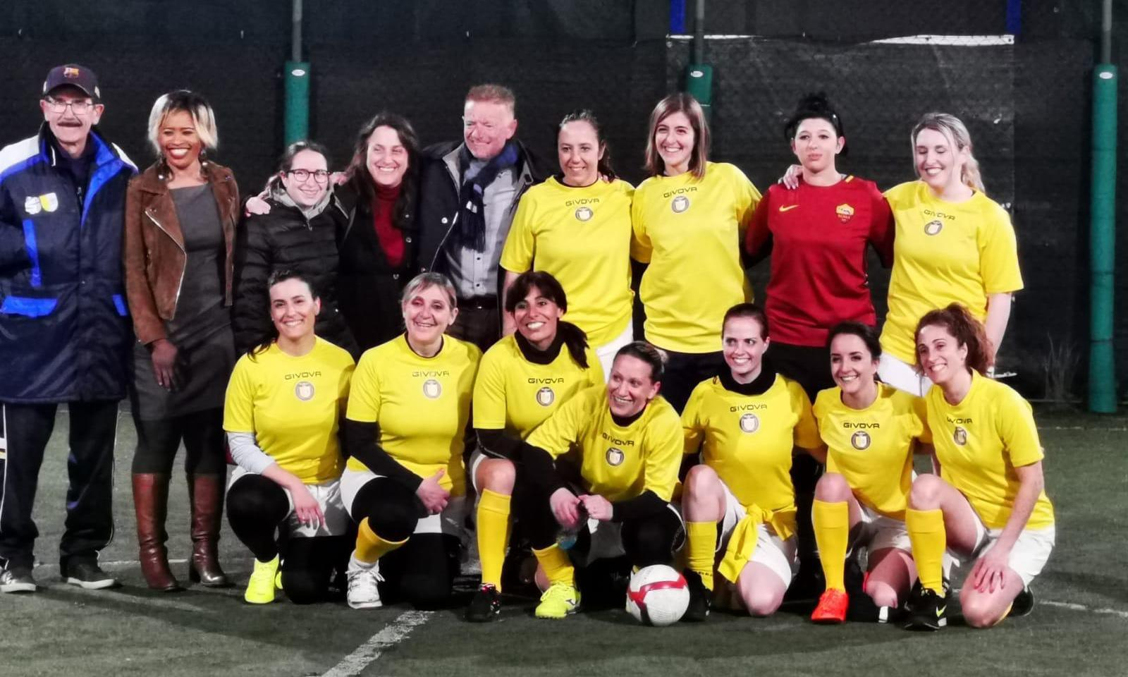 Vatican launches women's football team with pope's blessing