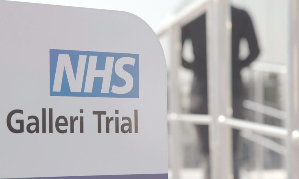 NHS England early cancer detection trial