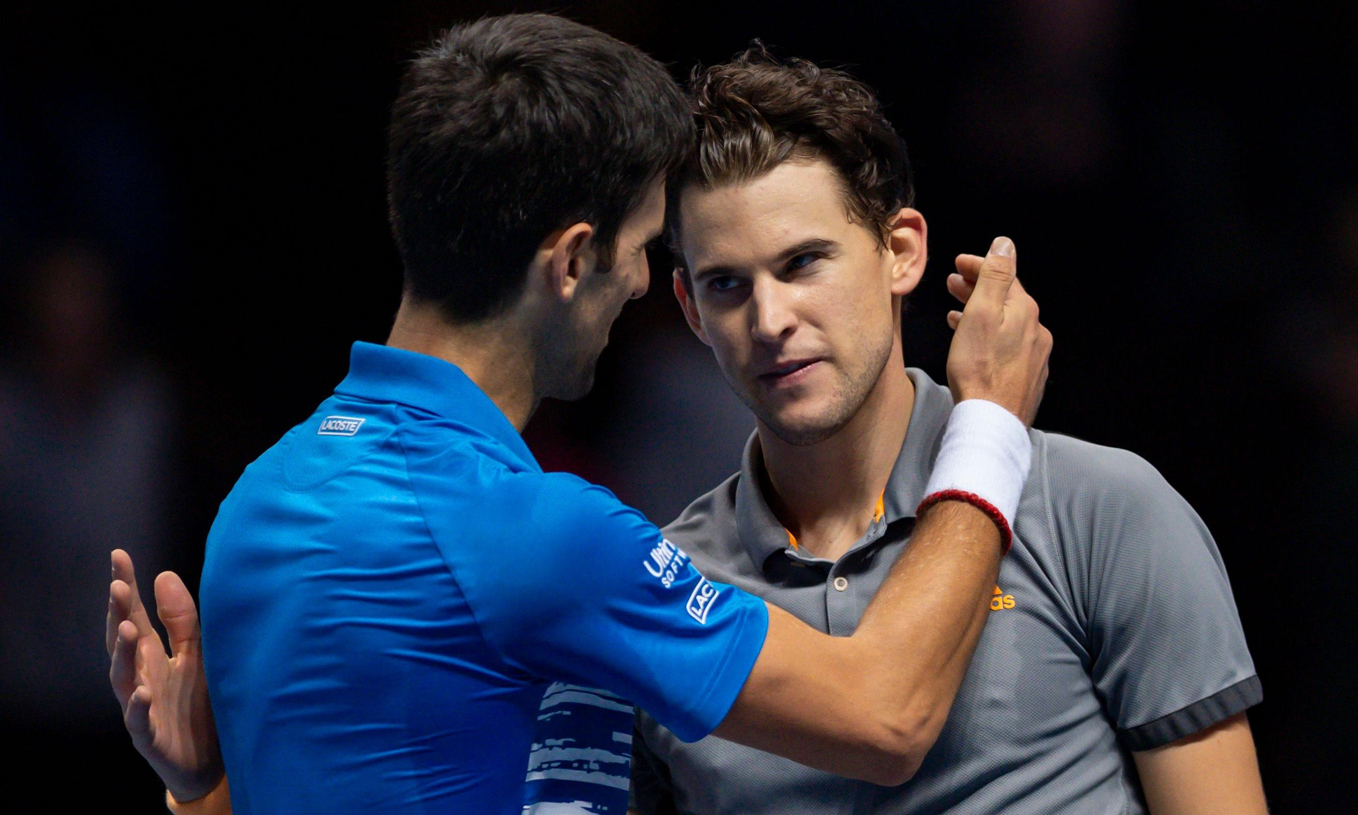Novak Djokovic falls to Dominic Thiem before Roger Federer showdown