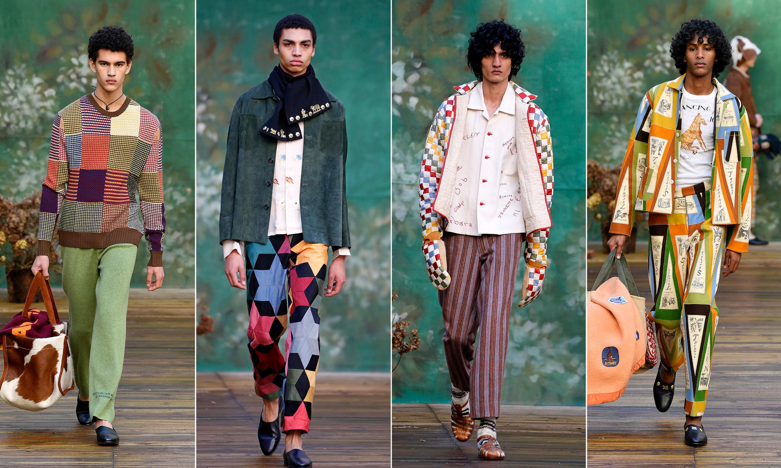 Passion for patchwork: make-do-and-mend hits the Paris catwalk