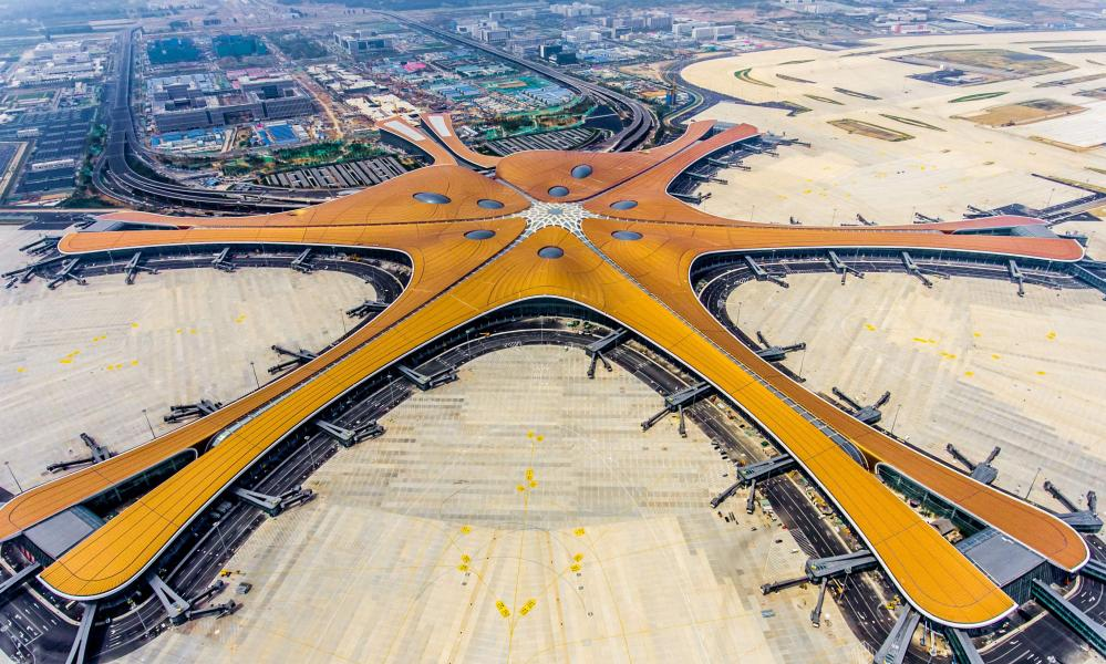 Beijing Daxing International Airport.