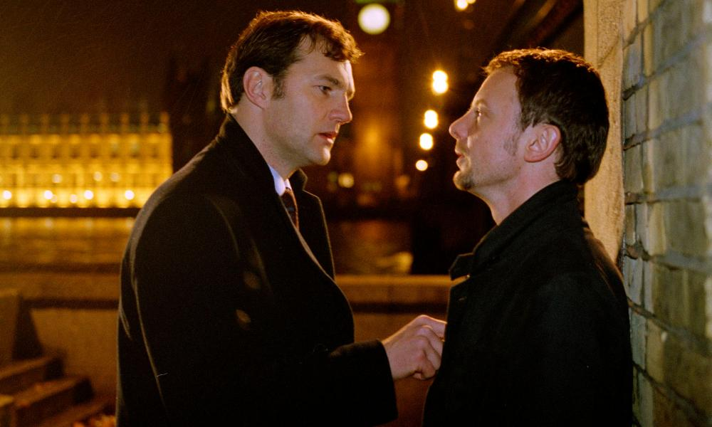 David Morrissey and John Simms