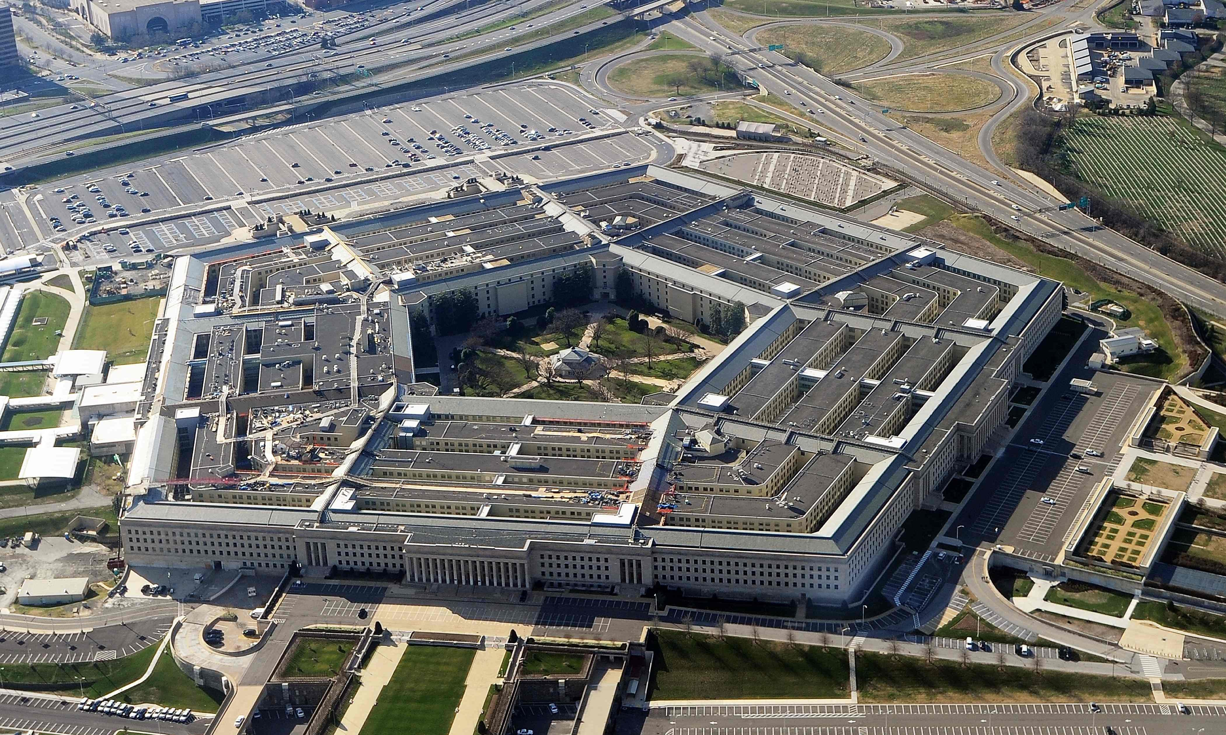 Pentagon ordered to halt work on $10bn 'war cloud' project after Amazon protest