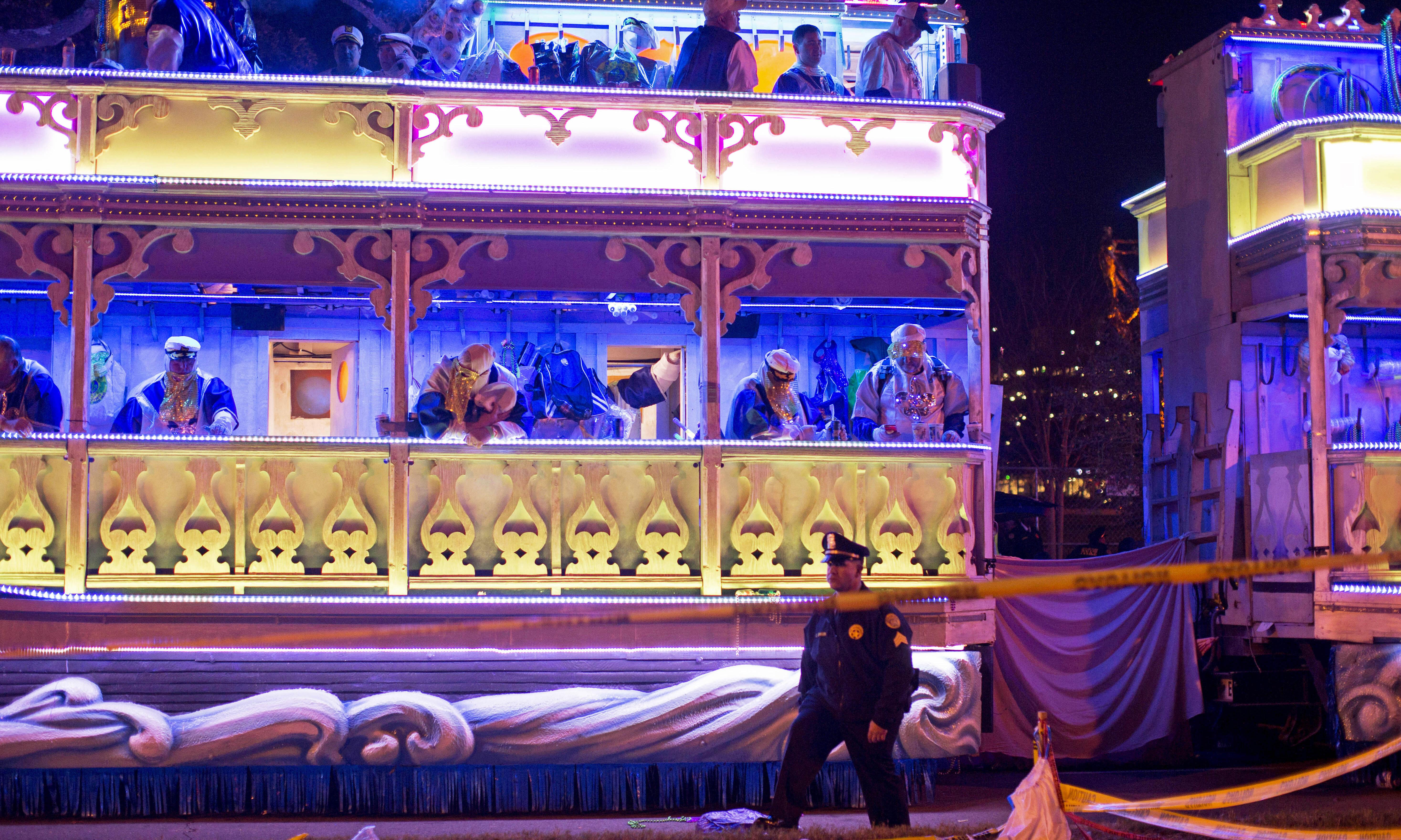 New Orleans: two people killed by Mardi Gras floats in one week