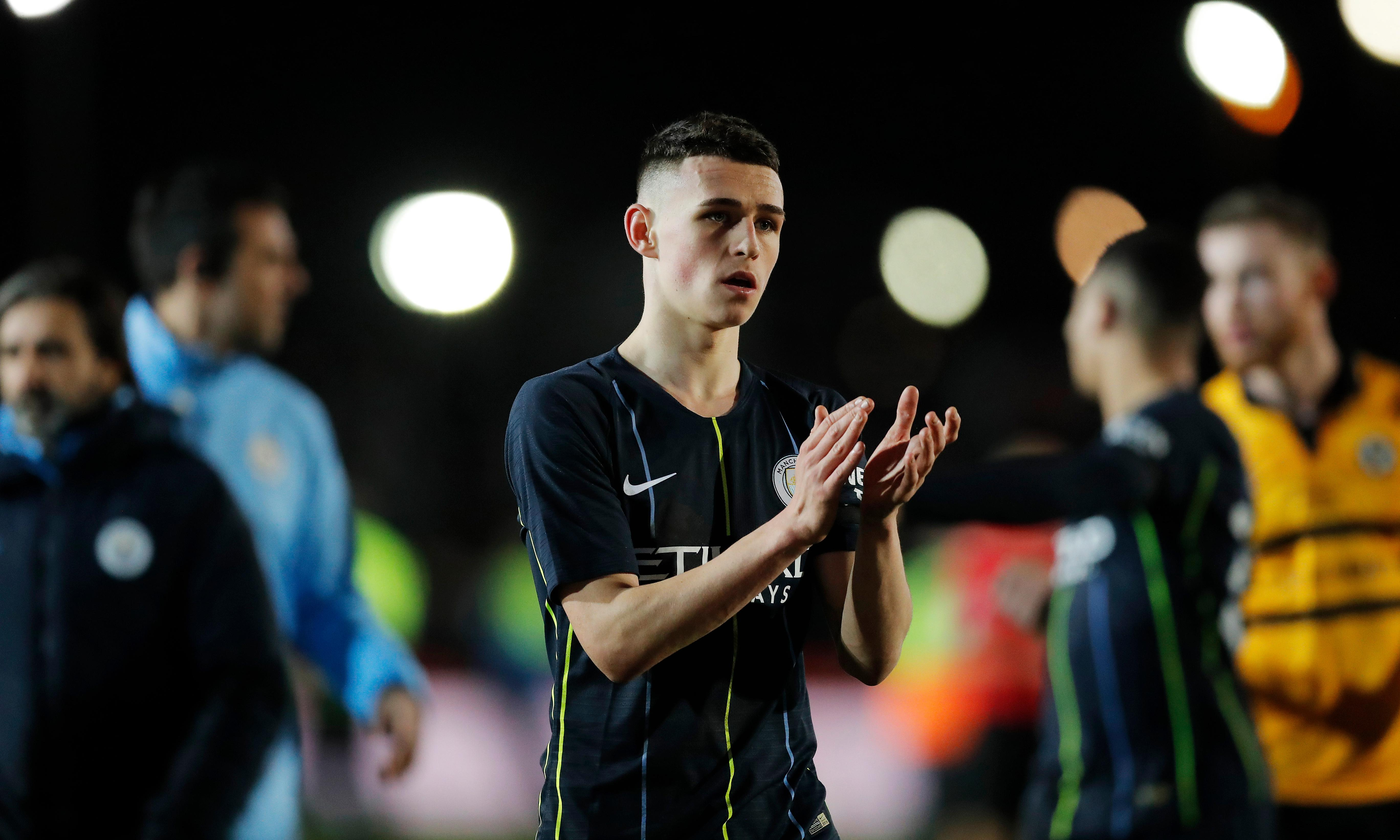 Phil Foden 'brilliant' for Manchester City against Newport, says Pep Guardiola