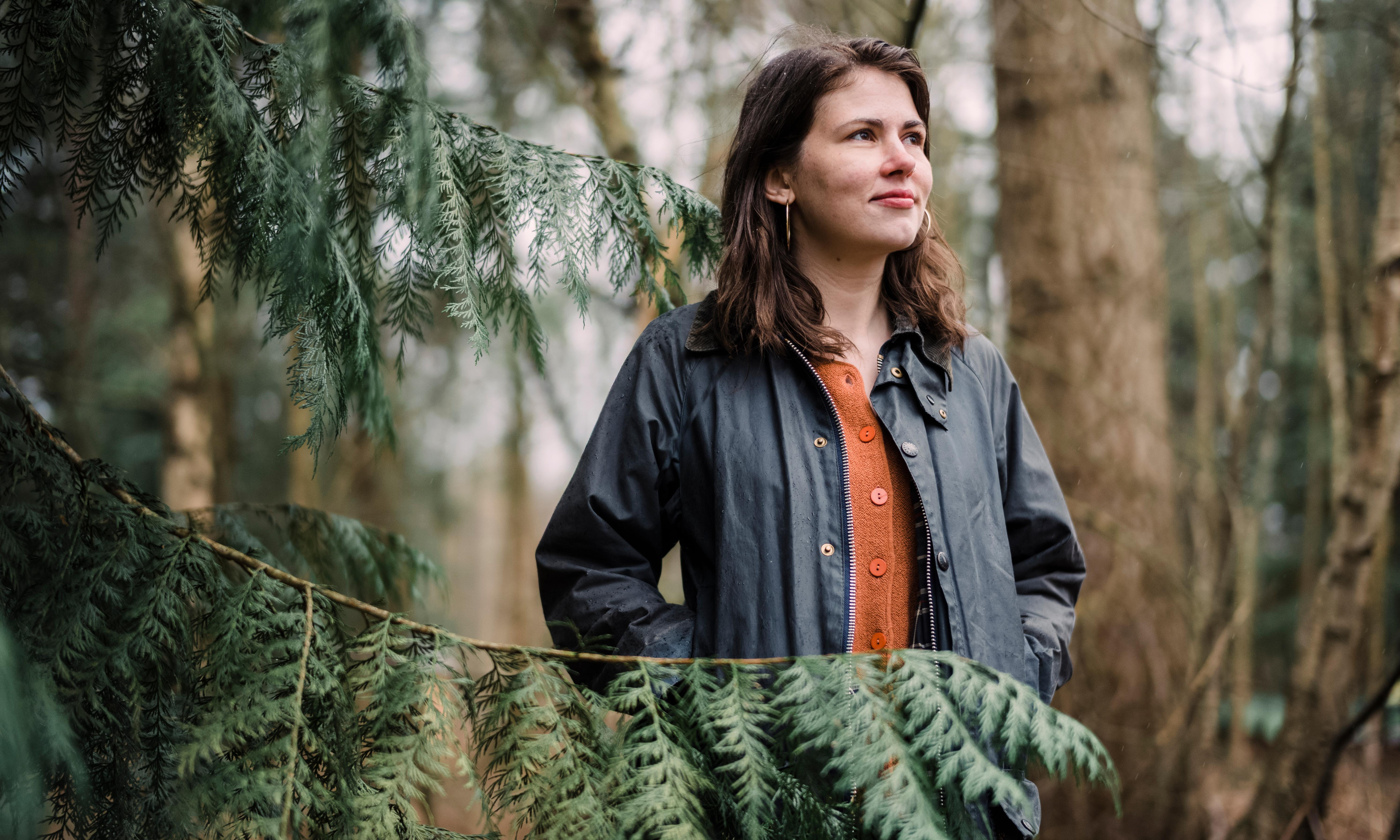 Take a leaf out of her book: woodland poet's search for inspiration in the trees