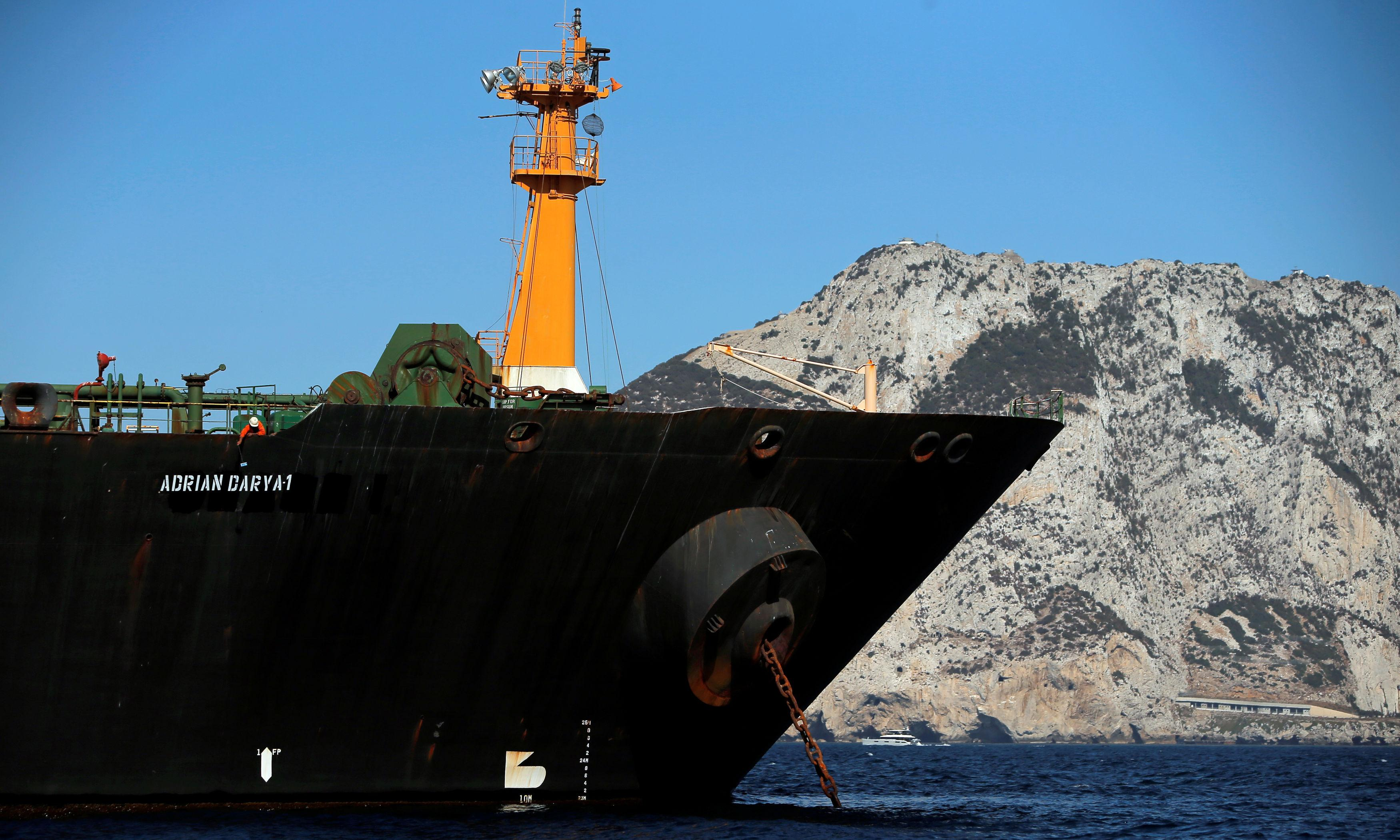 Iran tanker at centre of diplomatic row set to leave Gibraltar