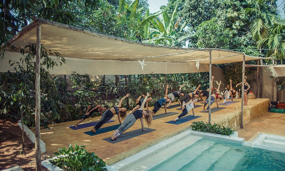 Chaya Yoga Retreats, Goa.