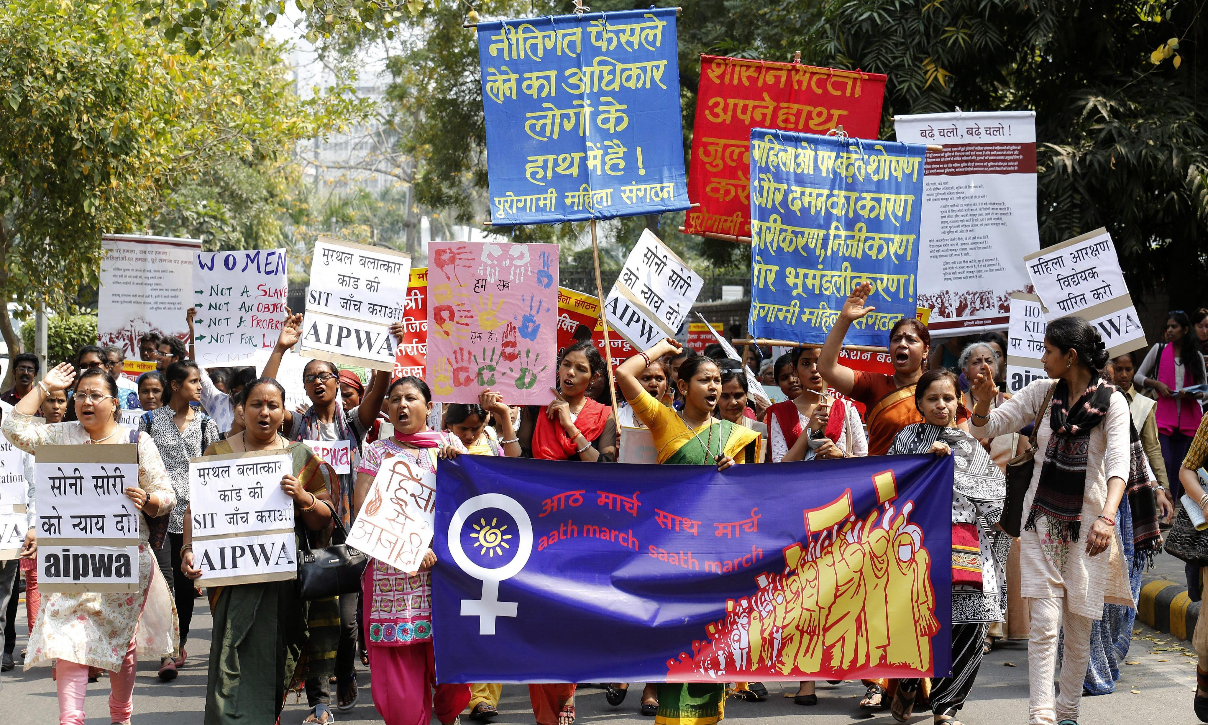 Indian schoolgirls beaten for resisting boys' sexual harassment
