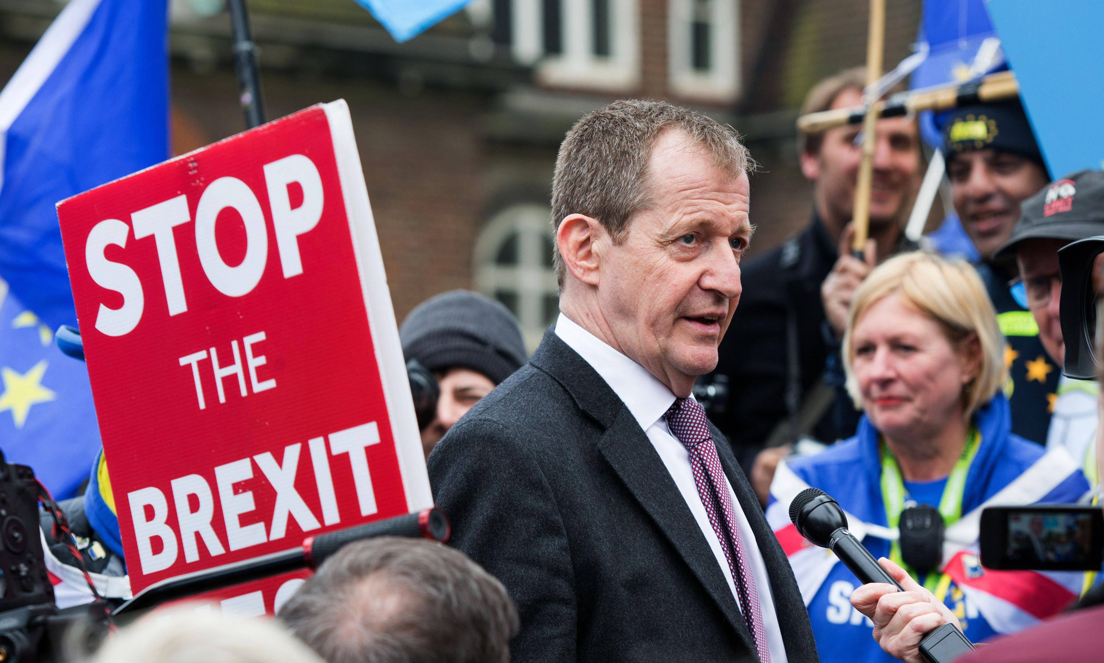 Alastair Campbell says he voted for 'remain party' in EU elections