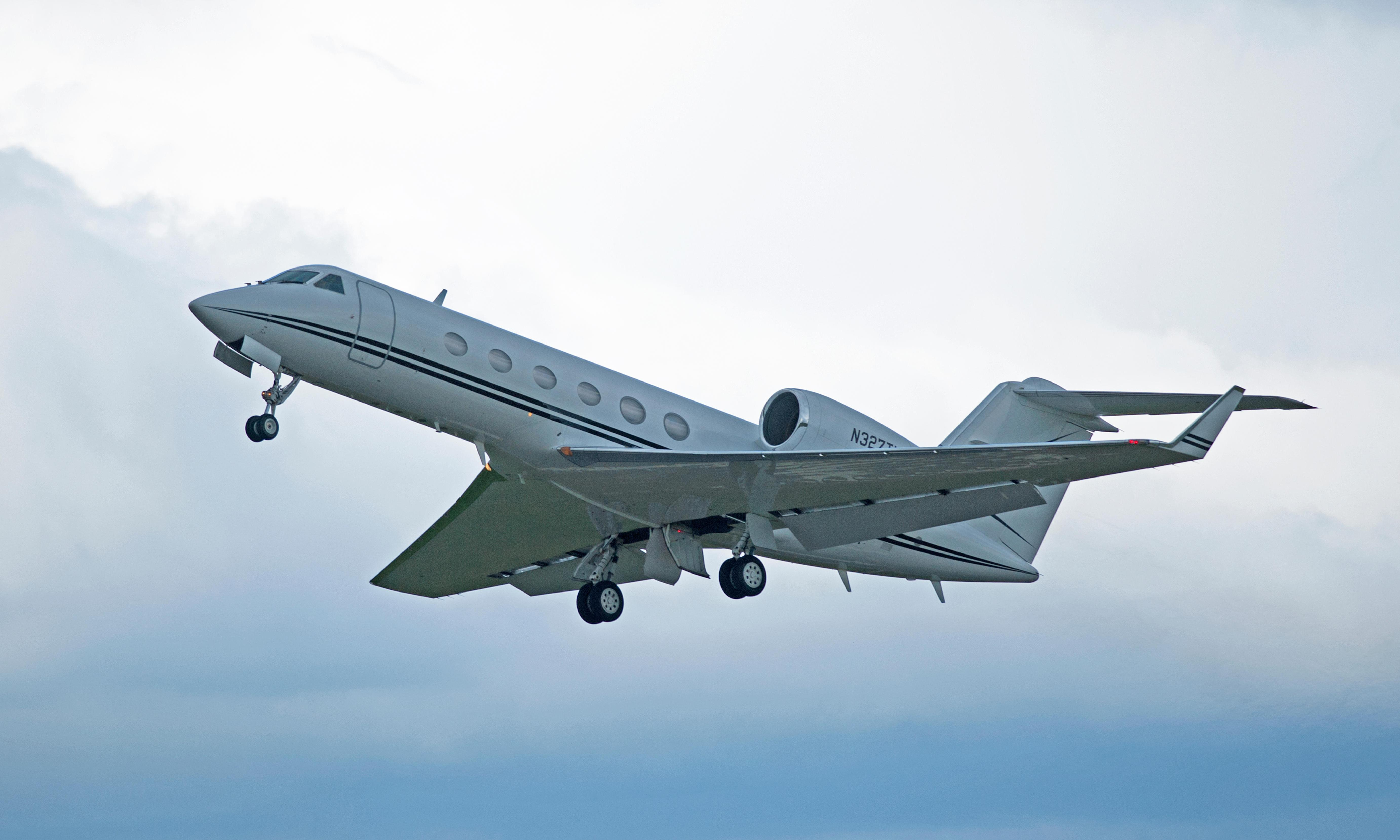 Private jets: 40% of these flights are empty. Further reason to ground them