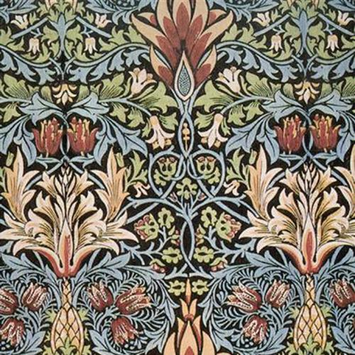 Snakeshead print by William Morris