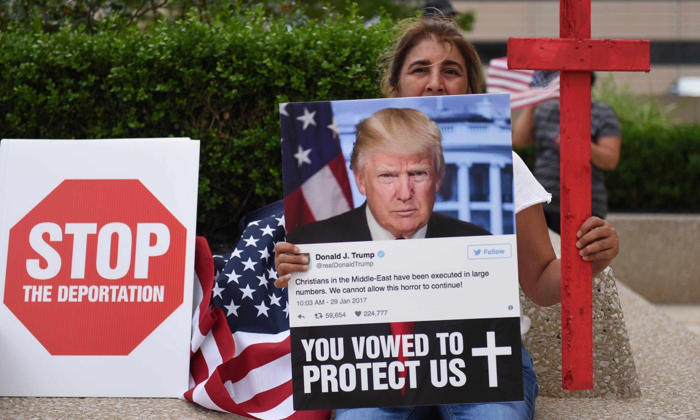 Iraqi Christians facing deportation feel conned by Trump: 'You vowed to protect us'
