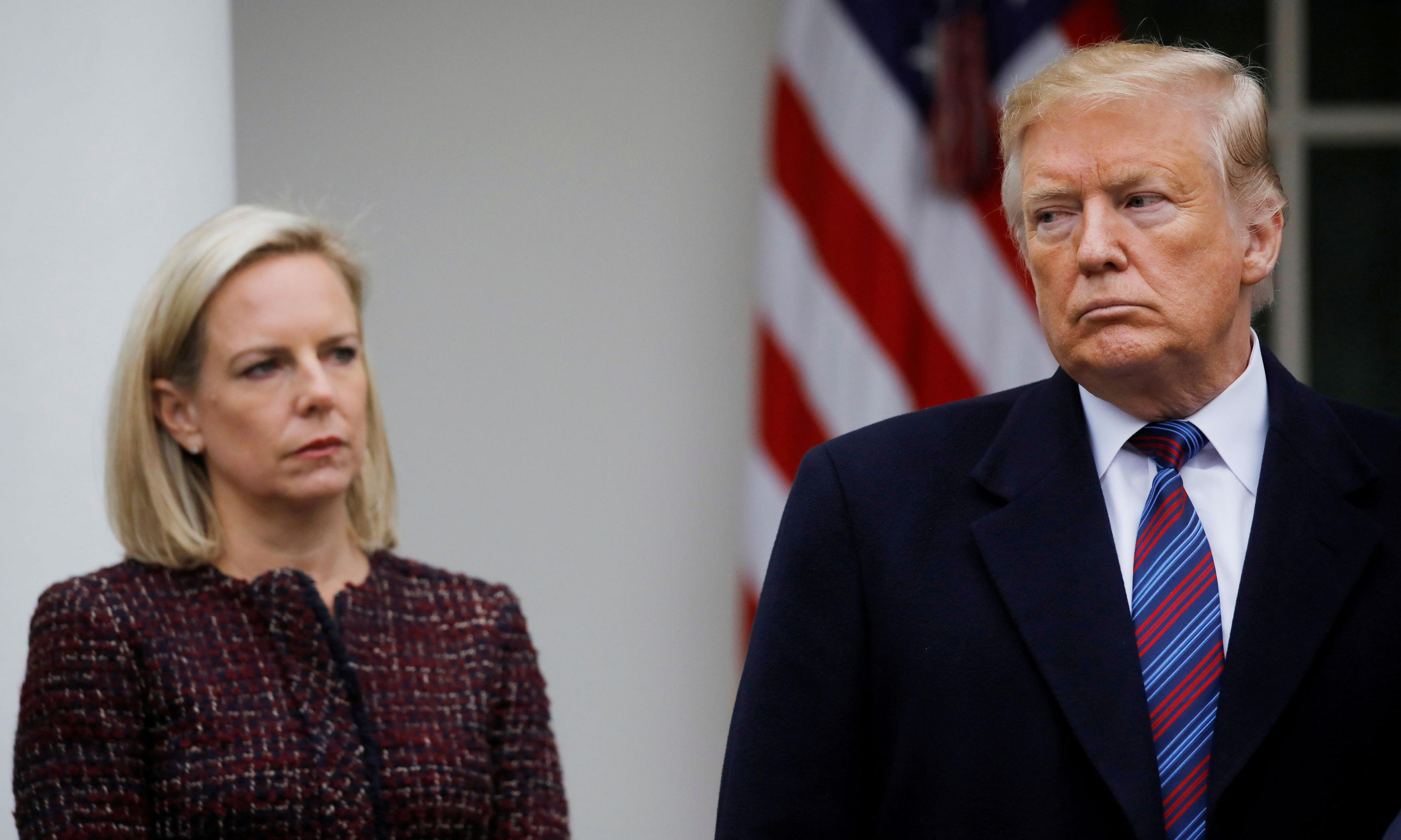 Trump 'abused' and 'harassed' Kirstjen Nielsen over border, new book reveals