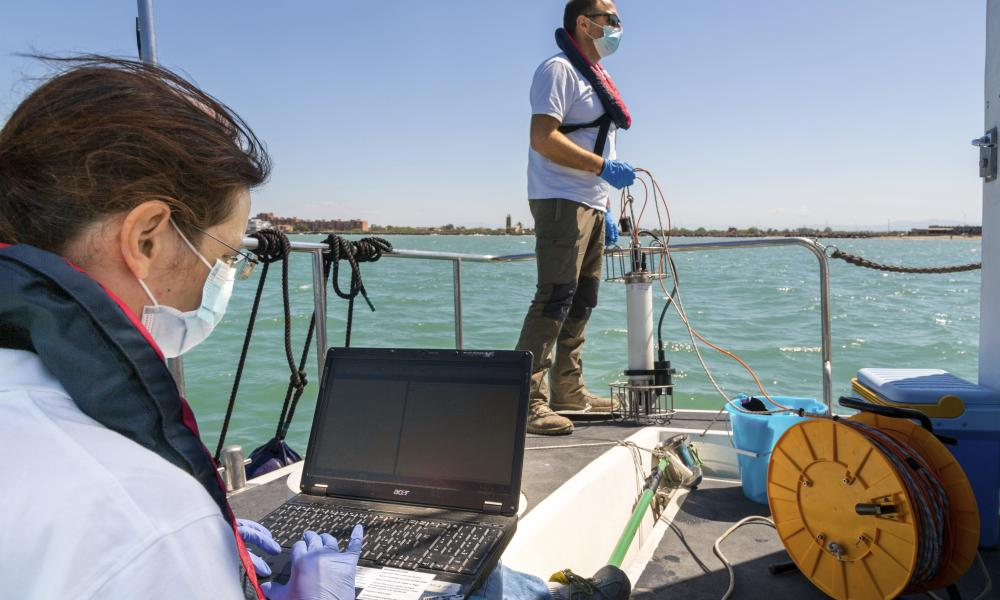 Preliminary results from a survey of seawater quality during Italy's coronavirus lockdown indicate a sharp reduction in pollution from human and livestock waste in the seas off Rome.