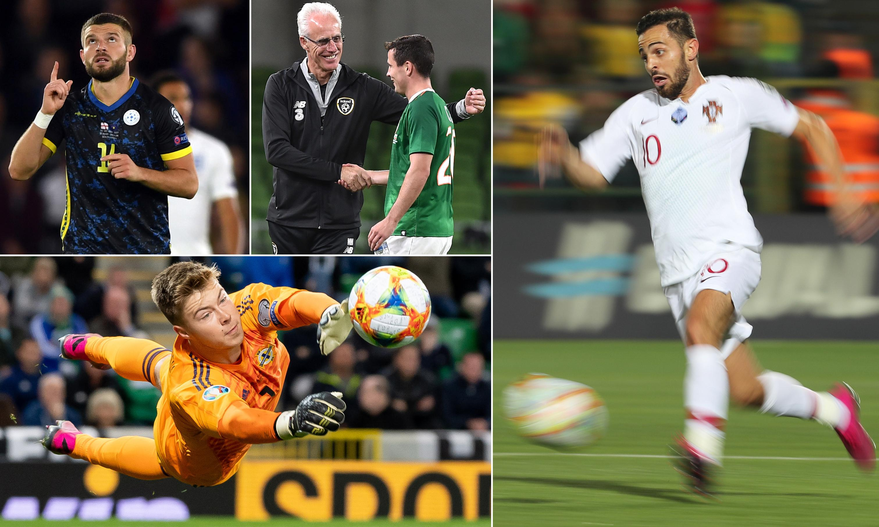 International football: 10 talking points from the latest round of games