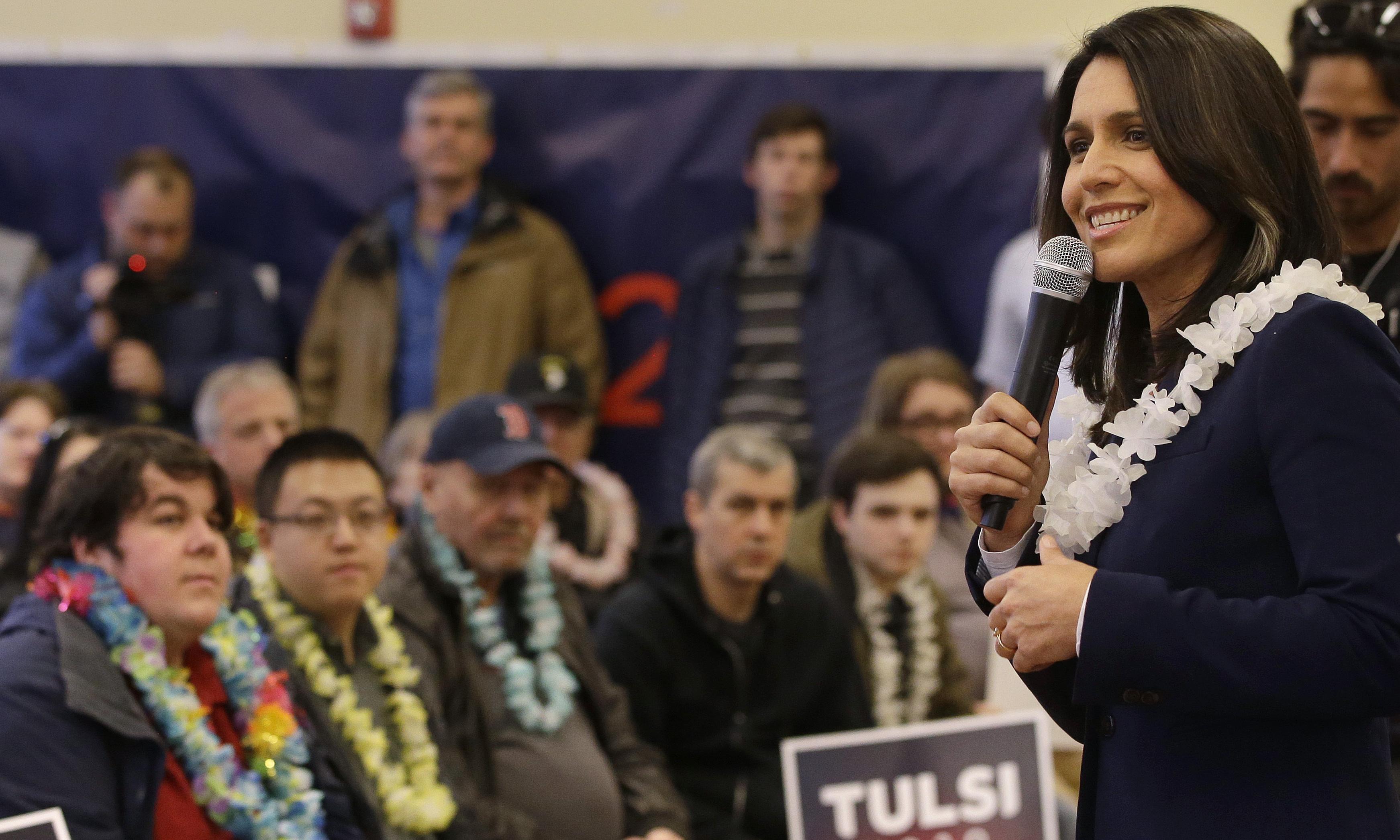 Tulsi Gabbard: is the Iraq war veteran 2020's most divisive candidate?