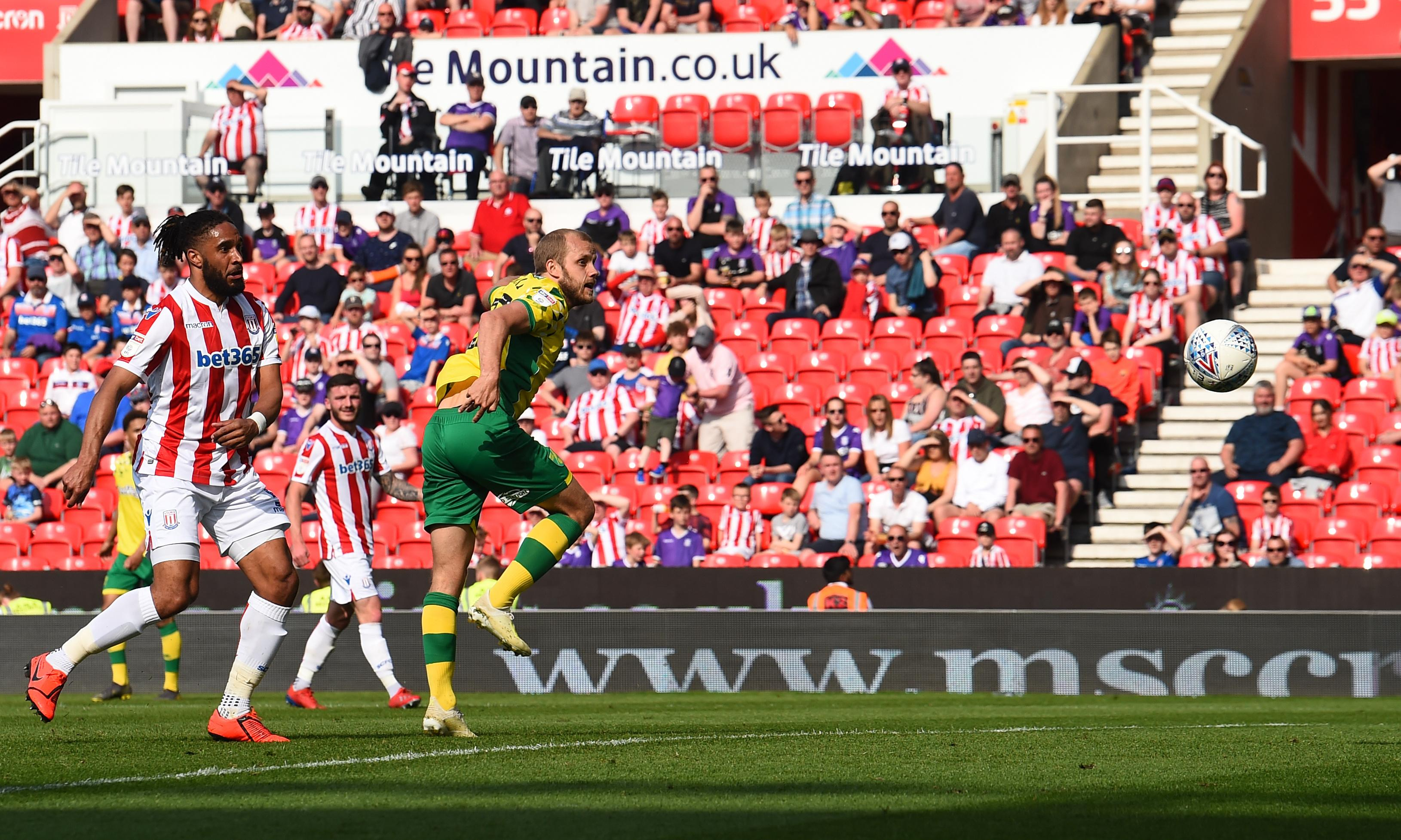 Norwich nerves continue after Tom Edwards earns Stoke a draw