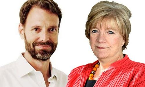 Tim Dowling and Polly Toynbee.